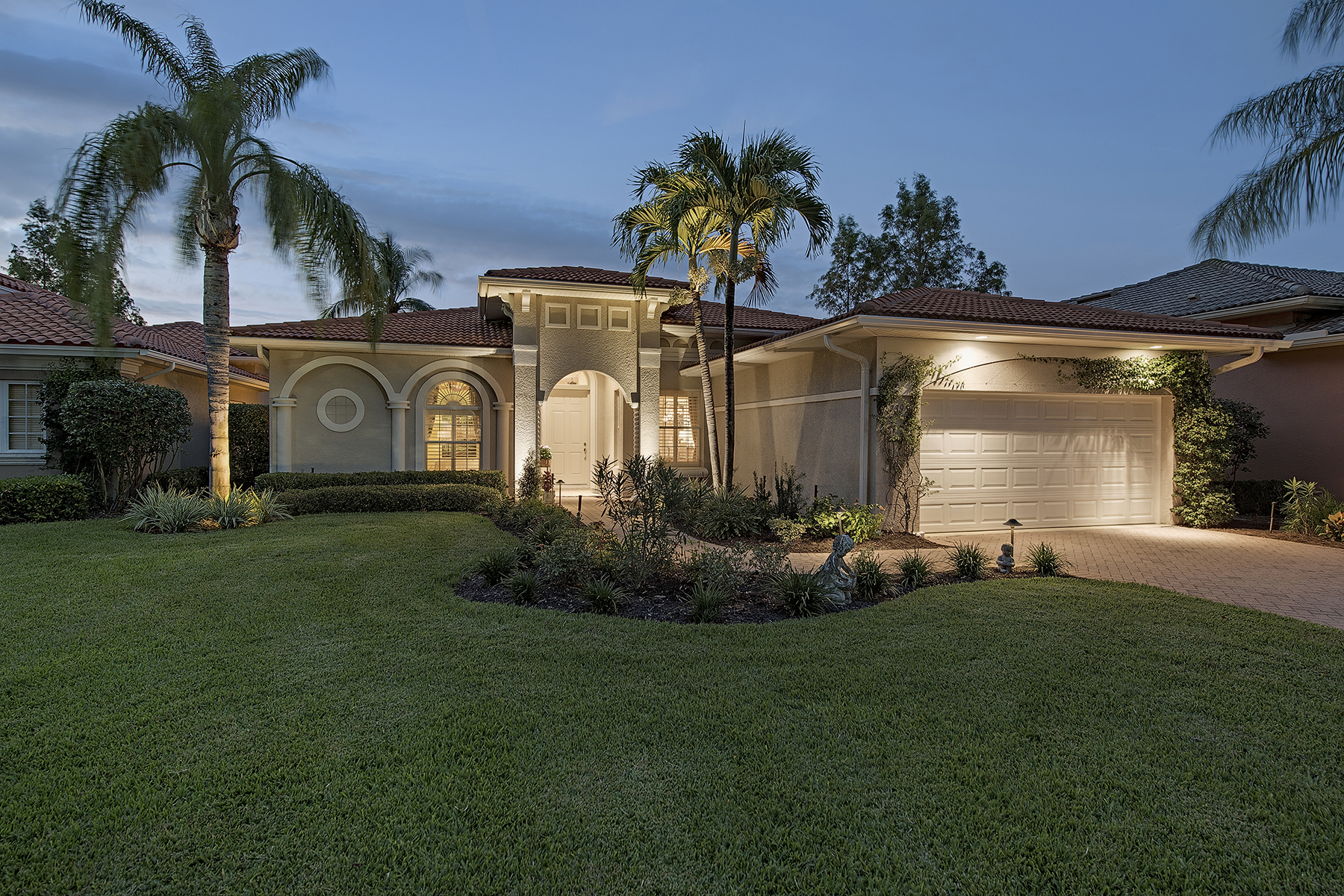 Single Family Home for Sale at OLDE CYPRESS - SANTA ROSA 7395 Monteverde Way Naples, Florida 34119 United States