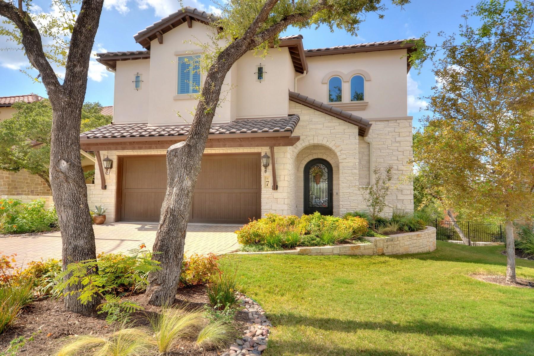 Nhà chung cư vì Bán tại Sophisticated and Elegant 4501 Westlake Dr 7 Austin, Texas 78746 Hoa Kỳ