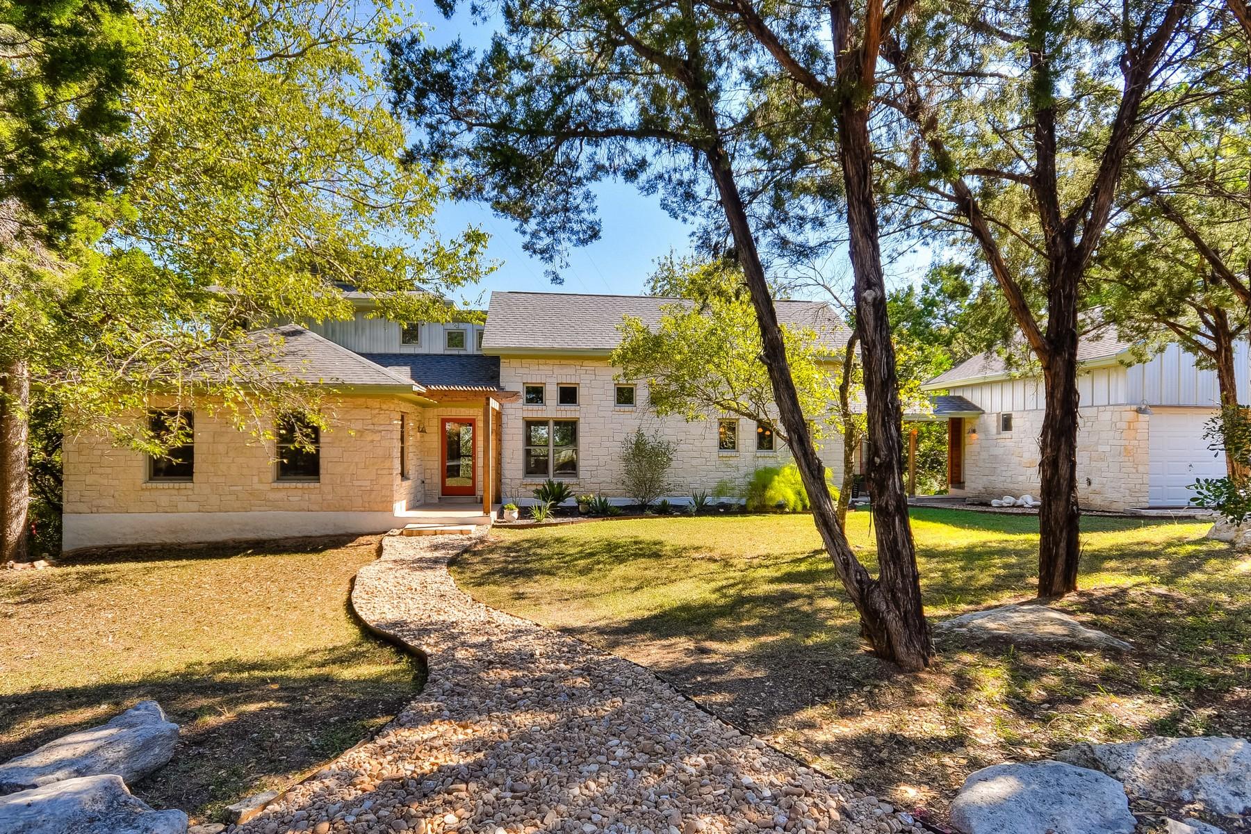 Vivienda unifamiliar por un Venta en Austin Musician's Home in Old Westlake 1604 The High Rd Austin, Texas 78746 Estados Unidos