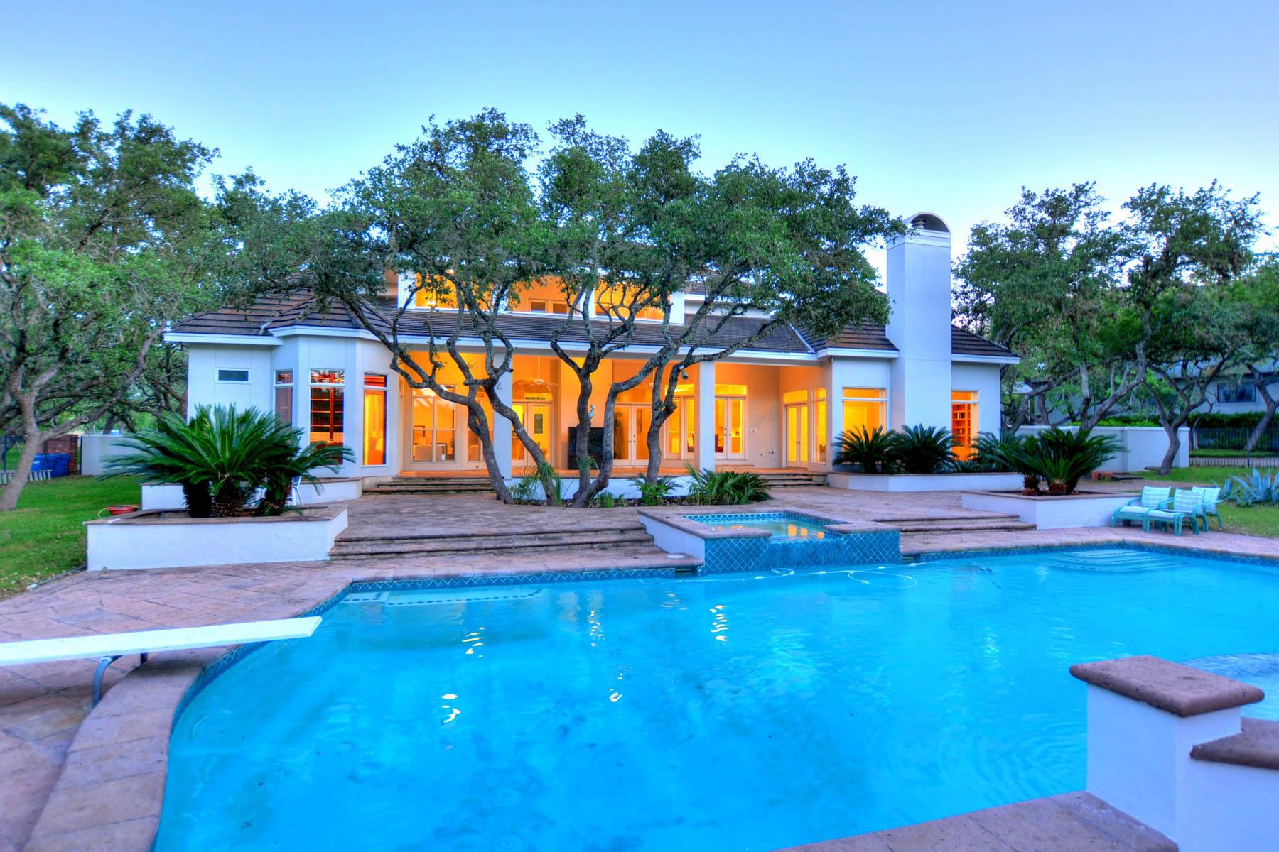 Single Family Home for Sale at Incredible Custom Home in Shavano Creek 239 Branch Oak Way Shavano Park, San Antonio, Texas, 78230 United States
