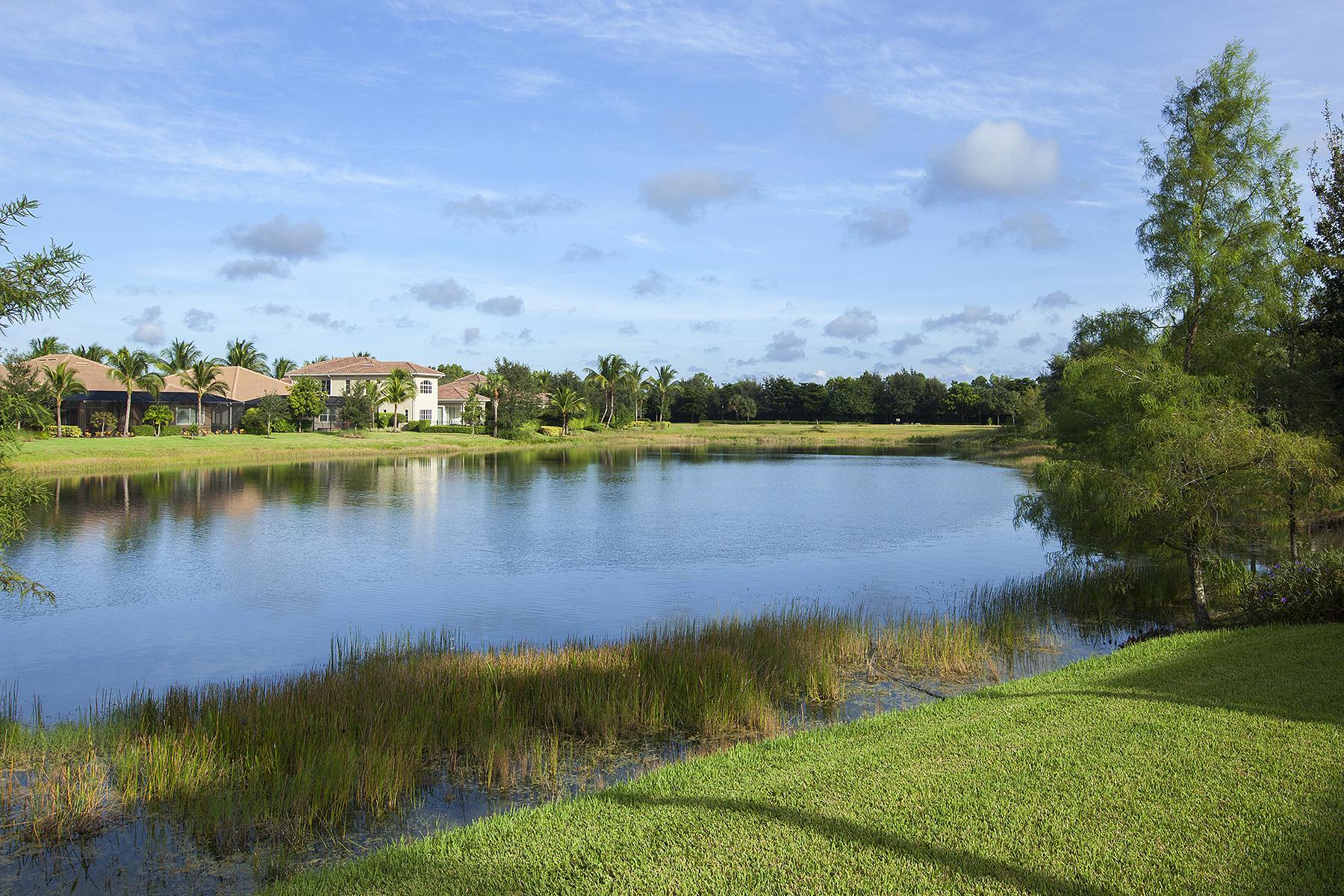 Kat Mülkiyeti için Satış at FIDDLER'S CREEK - MENAGGIO 9293 Menaggio Ct 101 Naples, Florida, 34114 Amerika Birleşik Devletleri