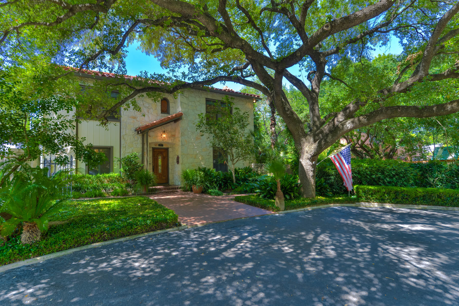 sales property at Classic 2-story Olmos Park Rock Home
