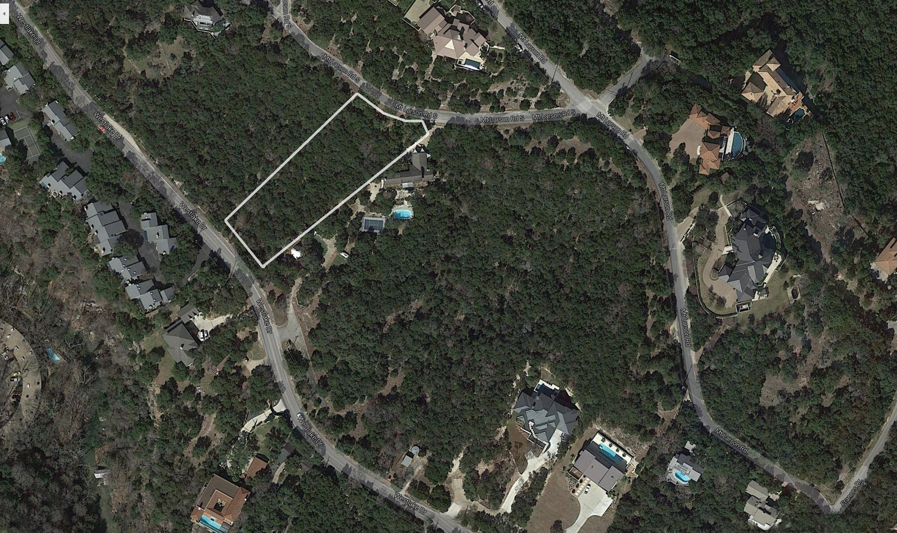 Land for Sale at Build Your Dream Home in Westlake Westlake Dr Lot 6 Austin, Texas 78746 United States