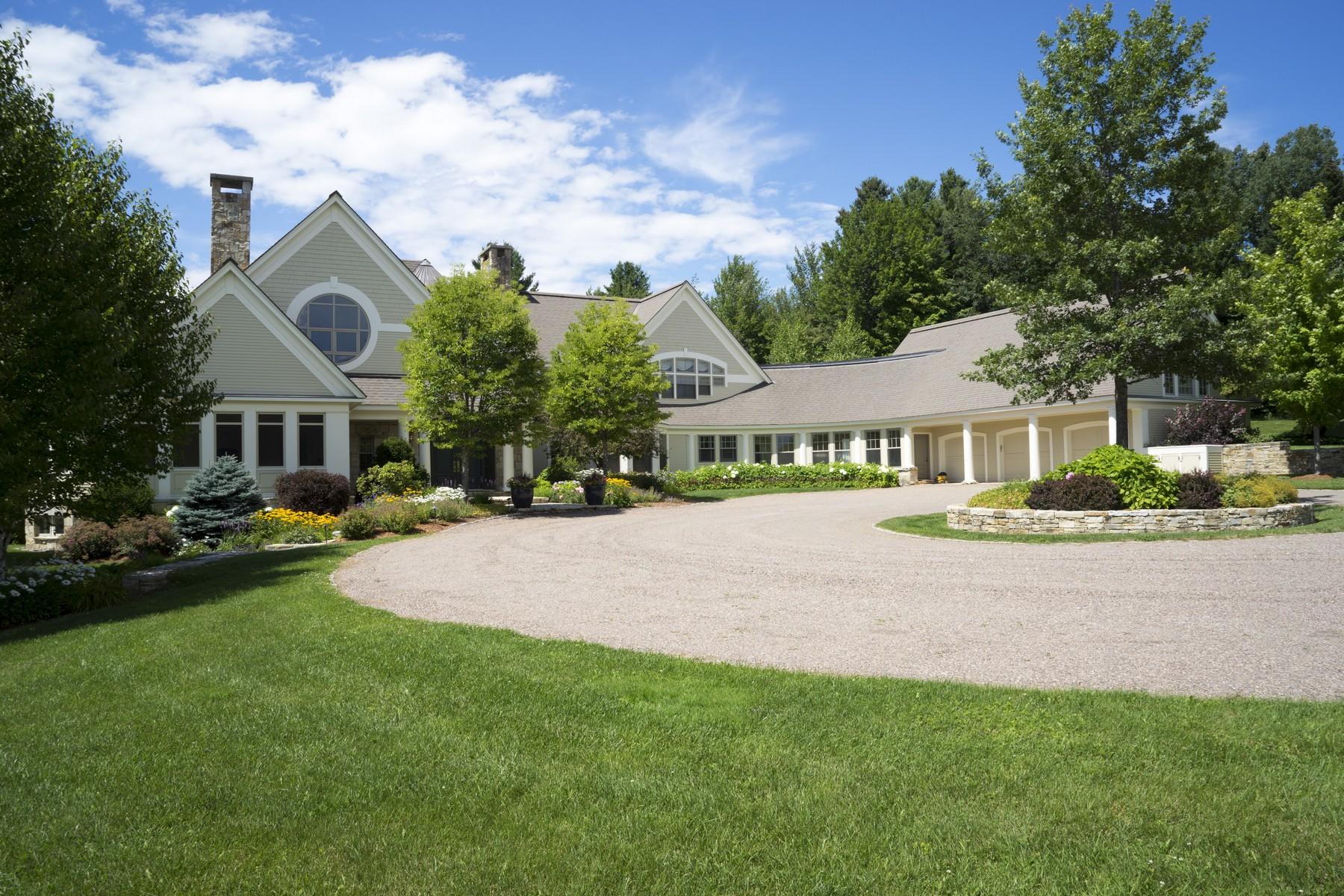獨棟家庭住宅 為 出售 在 484 Edson Hill Road, Stowe 484 Edson Hill Rd Stowe, 佛蒙特州 05672 美國