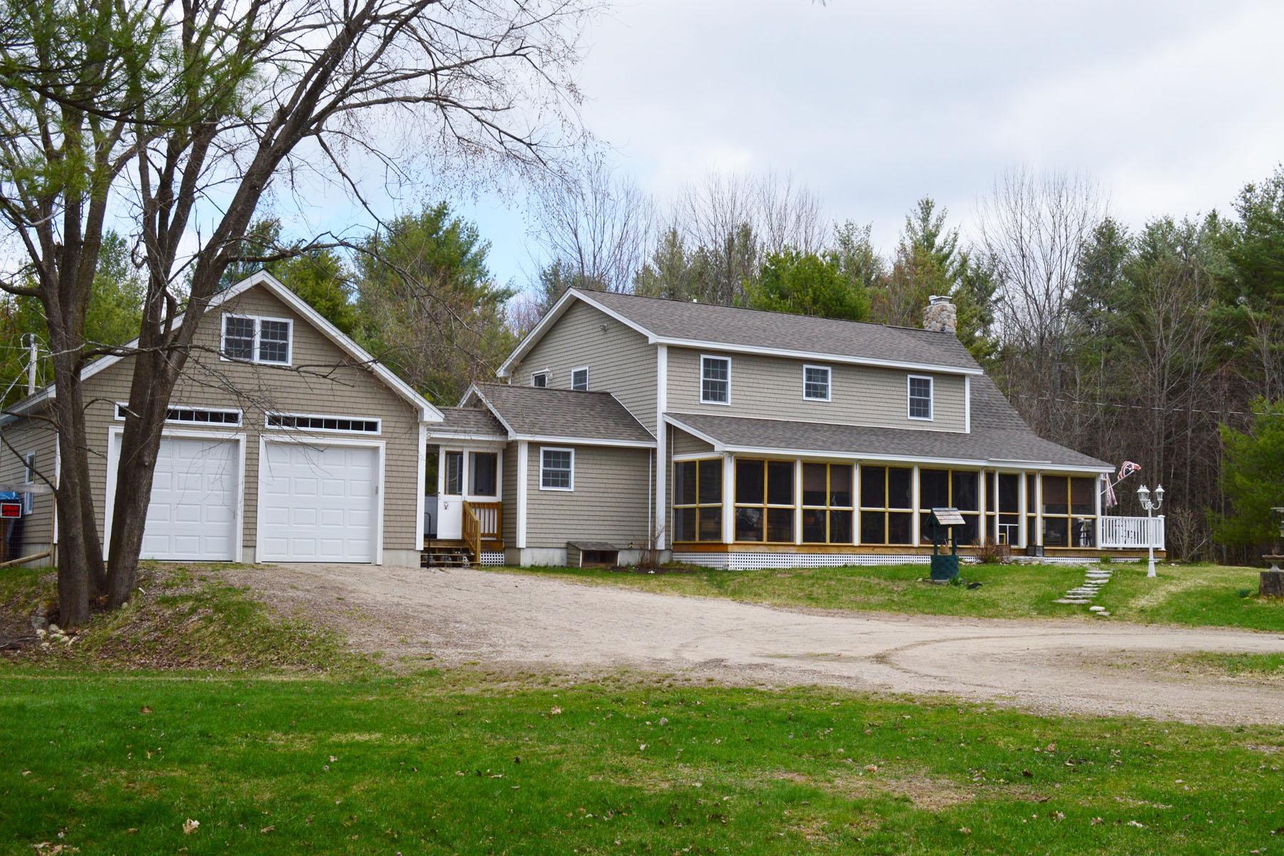 Maison unifamiliale pour l Vente à 169 Circuit Road, Ossipee 169 Circuit Rd Ossipee, New Hampshire 03864 États-Unis