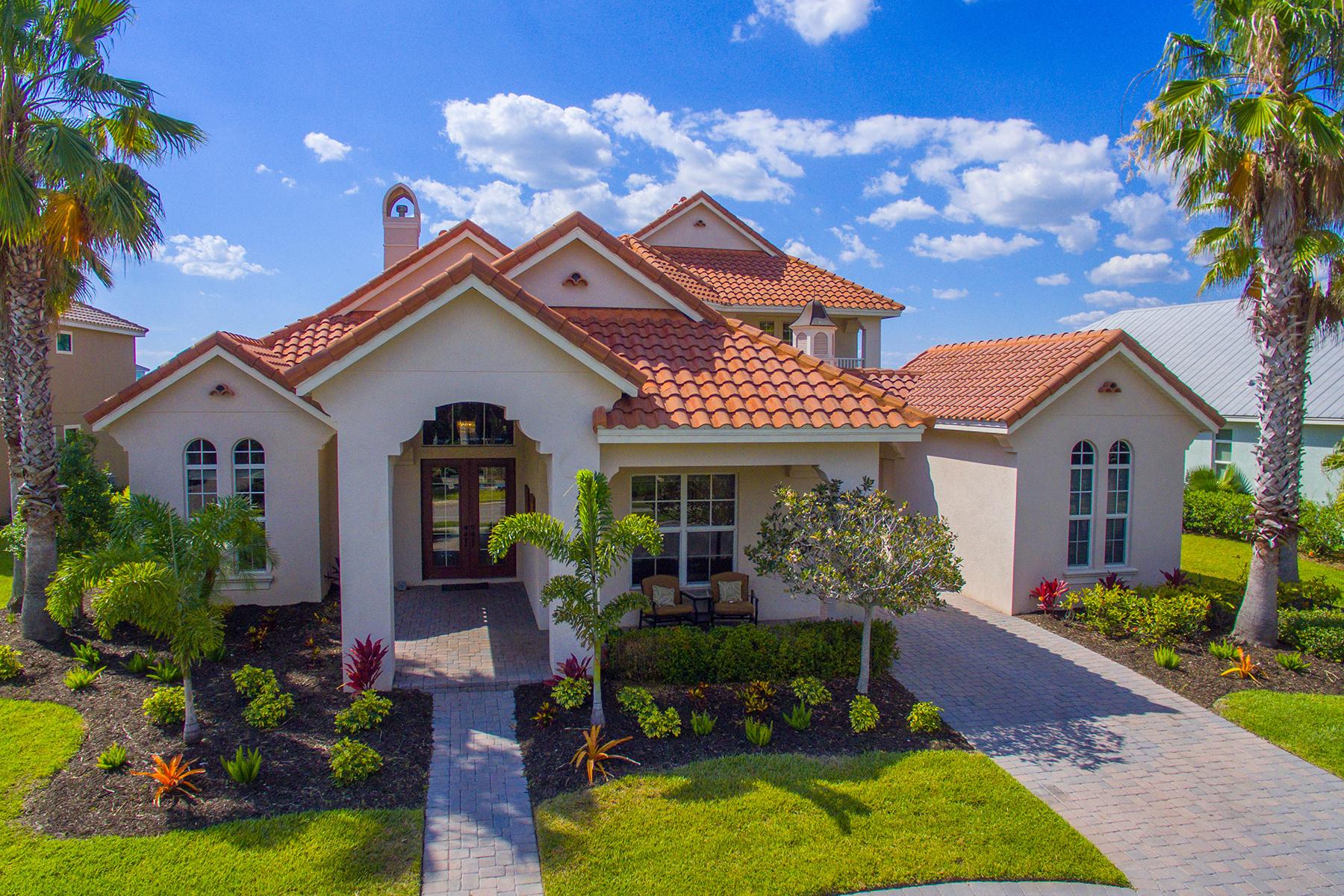 단독 가정 주택 용 매매 에 THE RESERVE AT HARBOUR WALK 548 Fore Dr Bradenton, 플로리다, 34208 미국