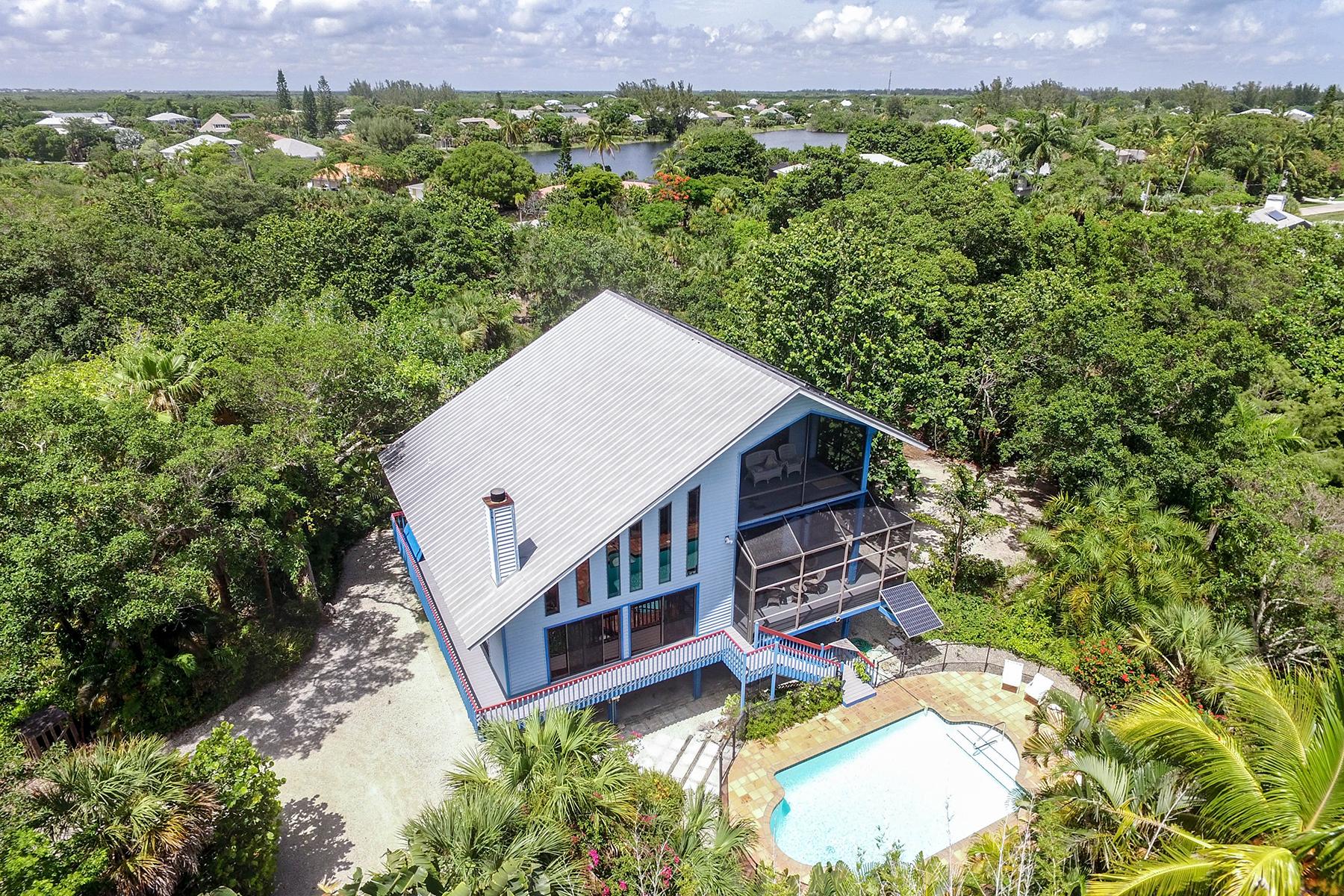 Single Family Home for Sale at 3402 W Gulf Dr , Sanibel, FL 33957 Sanibel, Florida 33957 United States