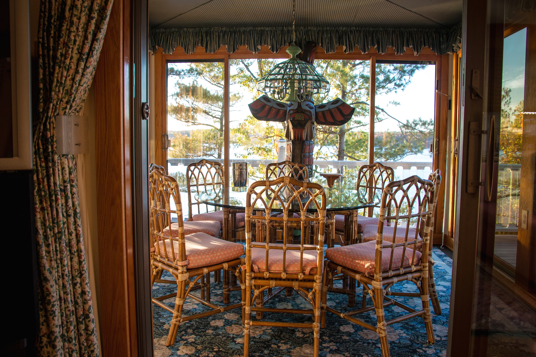 Additional photo for property listing at Majestic Home on St. Lawrence River 19289  Rock Baie Road Wellesley Island, New York 13640 United States