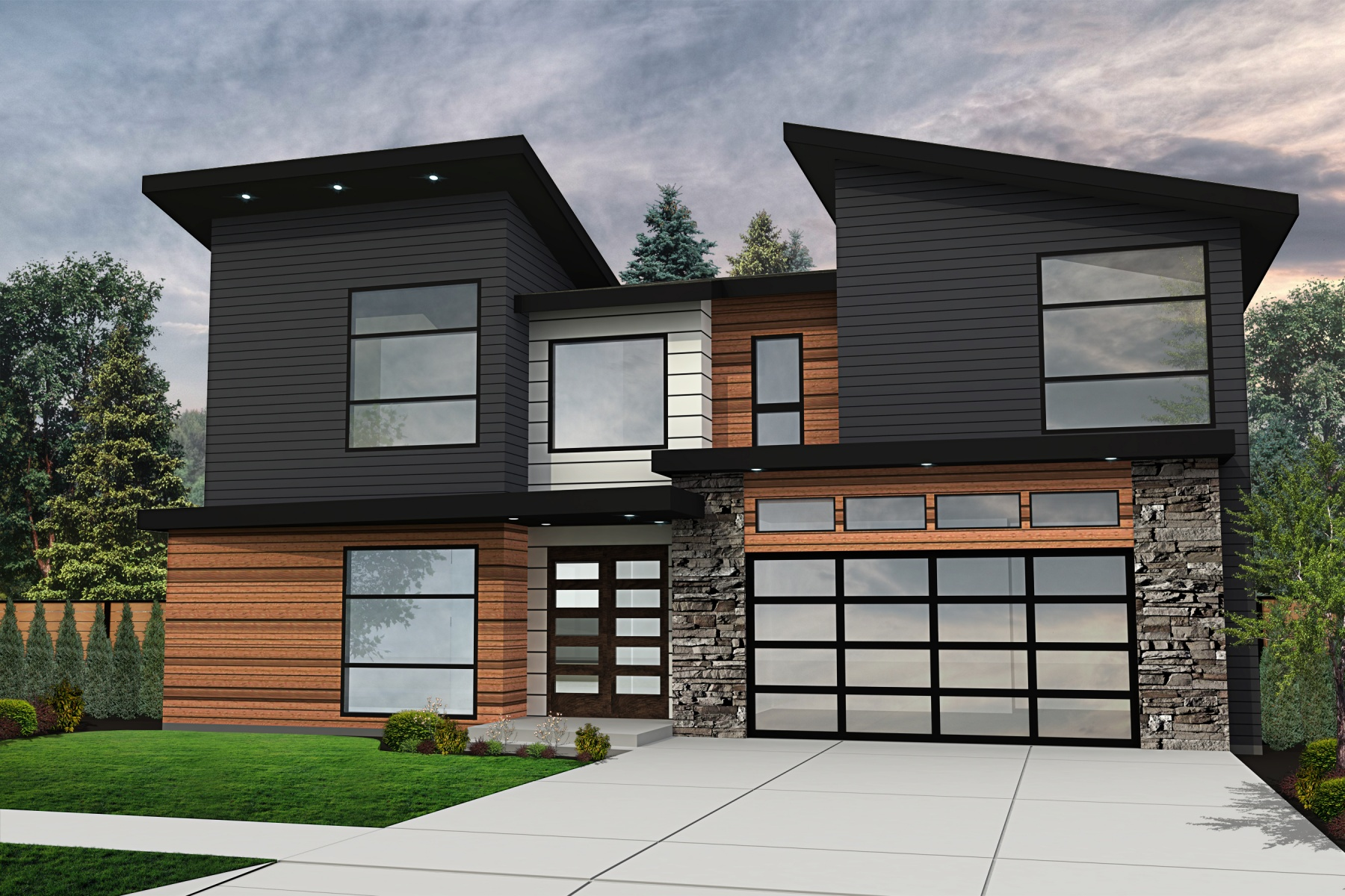 Single Family Home for Sale at New Contemporary Development 4709 N ADAMS St Camas, Washington 98607 United States
