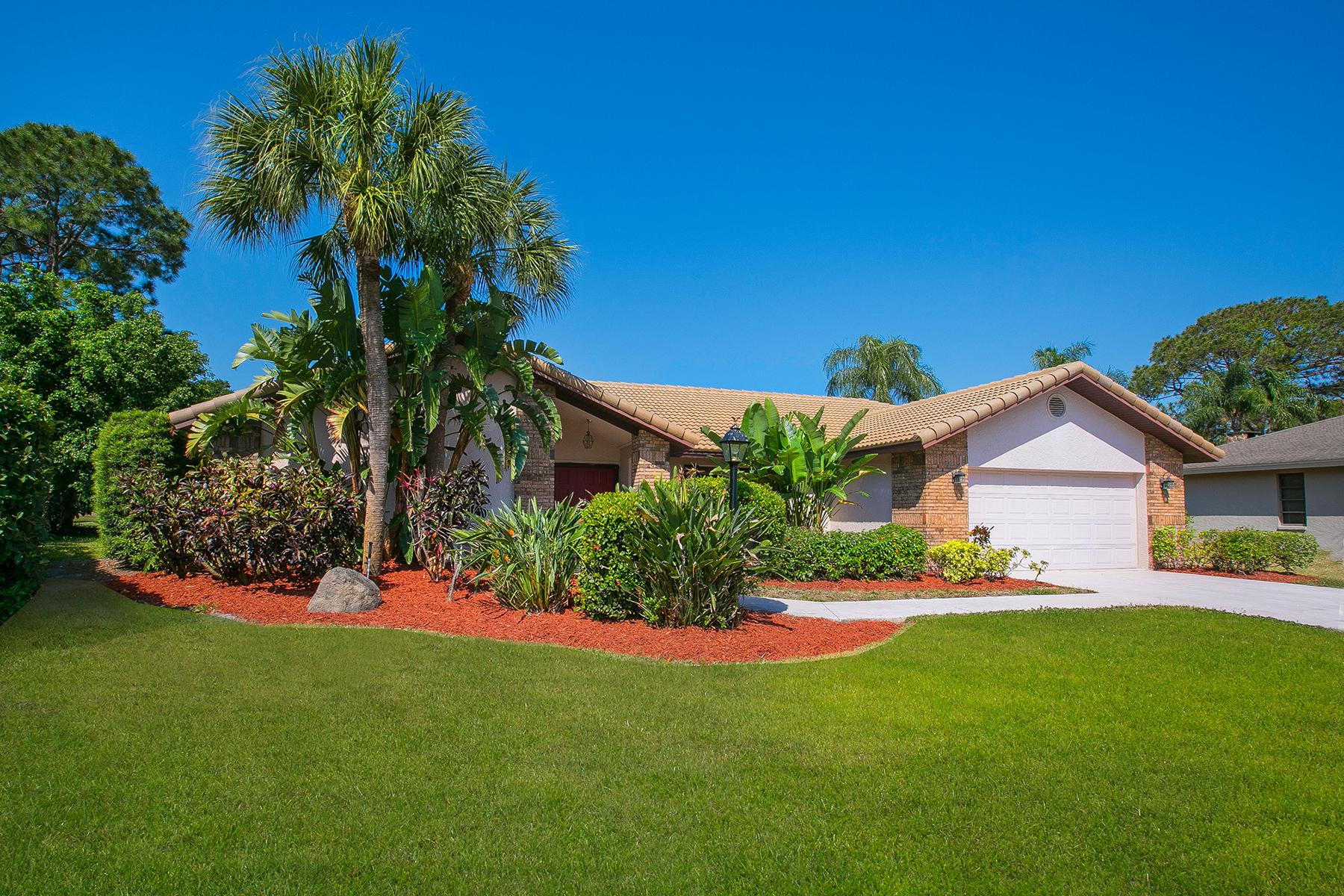 Casa para uma família para Venda às BENT TREE VILLAGE 4943 Silkwood Dr Sarasota, Florida, 34241 Estados Unidos