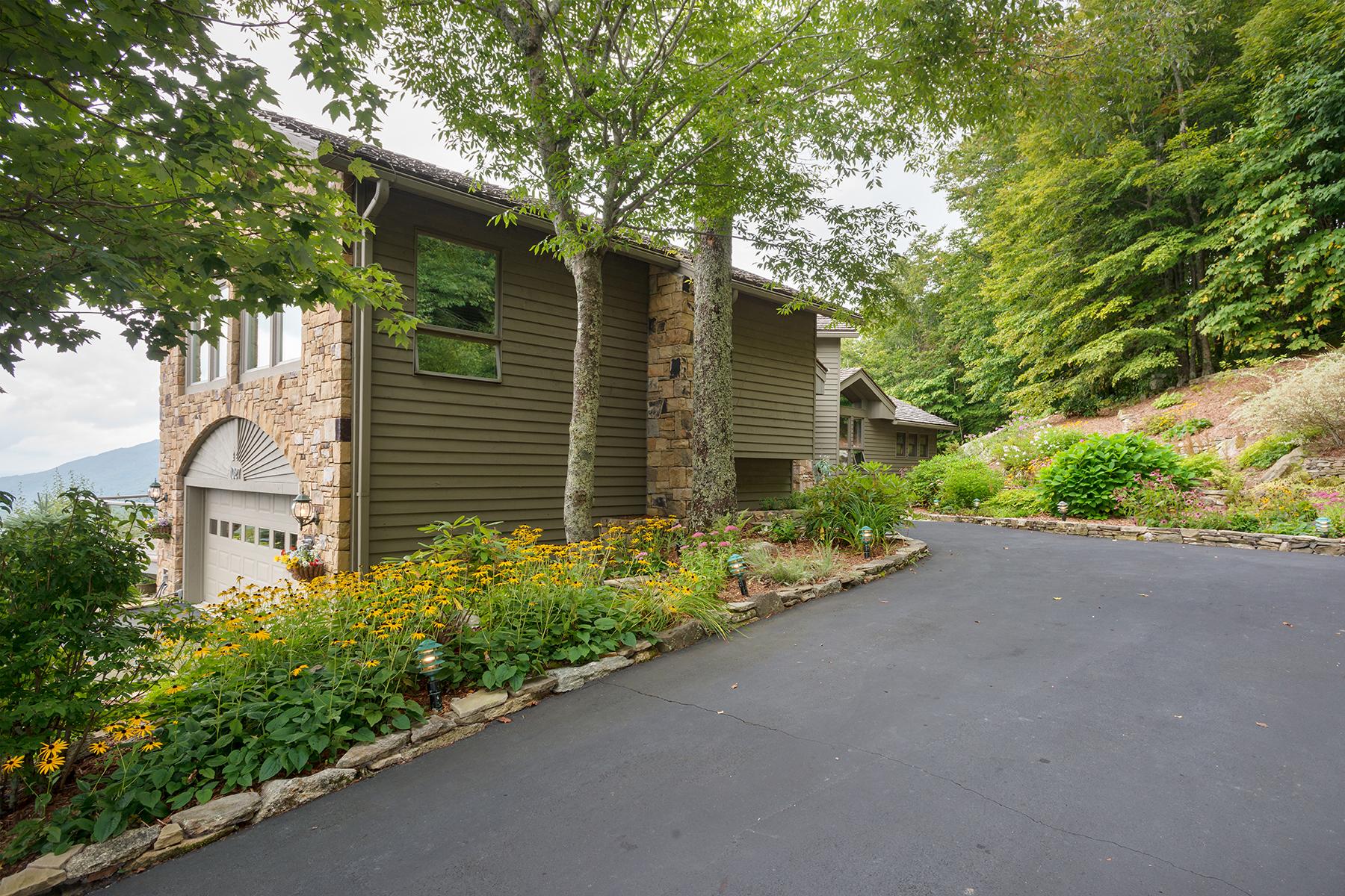 Maison unifamiliale pour l Vente à LINVILLE RIDGE 1027 Ridge Drive Linville, Carolina Du Nord 28646 États-Unis