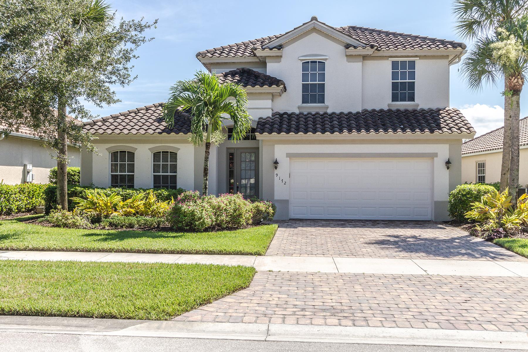 独户住宅 为 销售 在 THE QUARRY - THE SHALLOWS 9172 Quartz Ln 那不勒斯, 佛罗里达州, 34120 美国