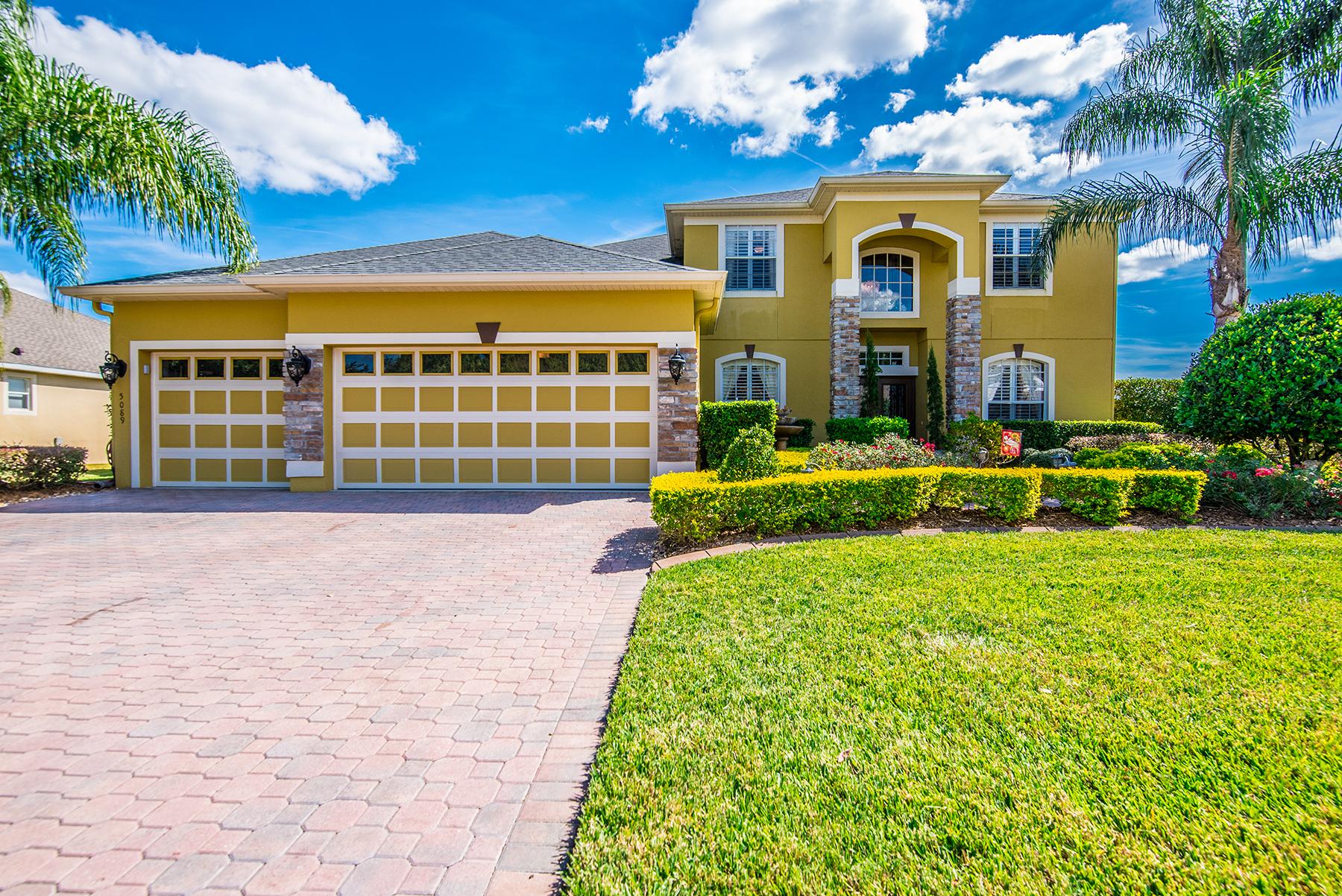 Maison unifamiliale pour l Vente à ORLANDO - SANFORD 5089 Hawks Hammock Way Sanford, Florida, 32771 États-Unis