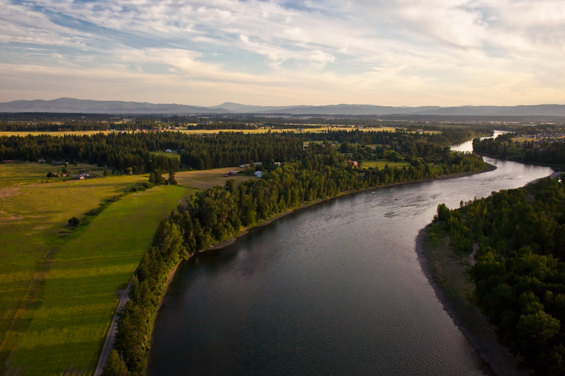 Land for Sale at Flathead River Acerage 264-494 River Rd Columbia Falls, Montana, 59912 United States