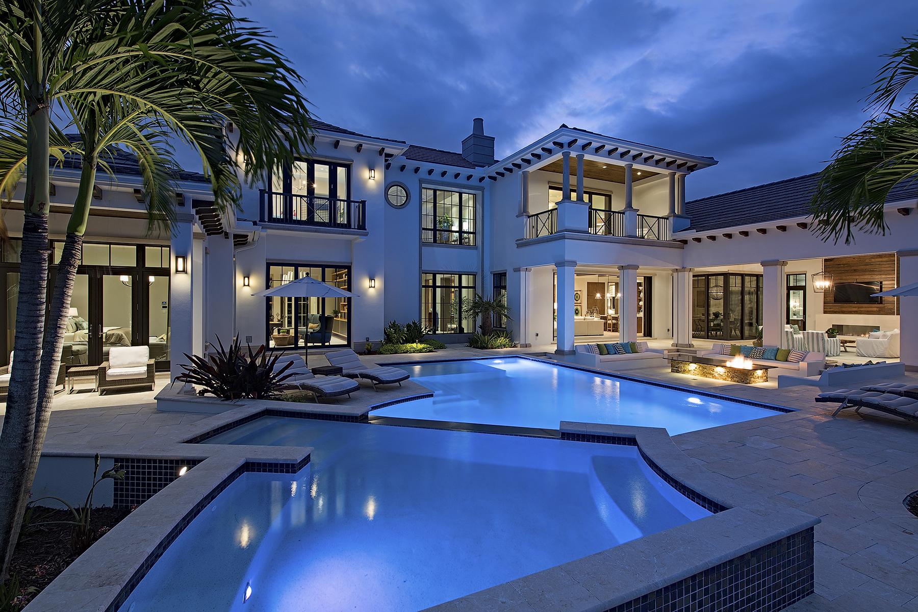 Maison unifamiliale pour l Vente à 1268 Osprey Trl , Naples, FL 34105 1268 Osprey Trl Naples, Florida, 34105 États-Unis