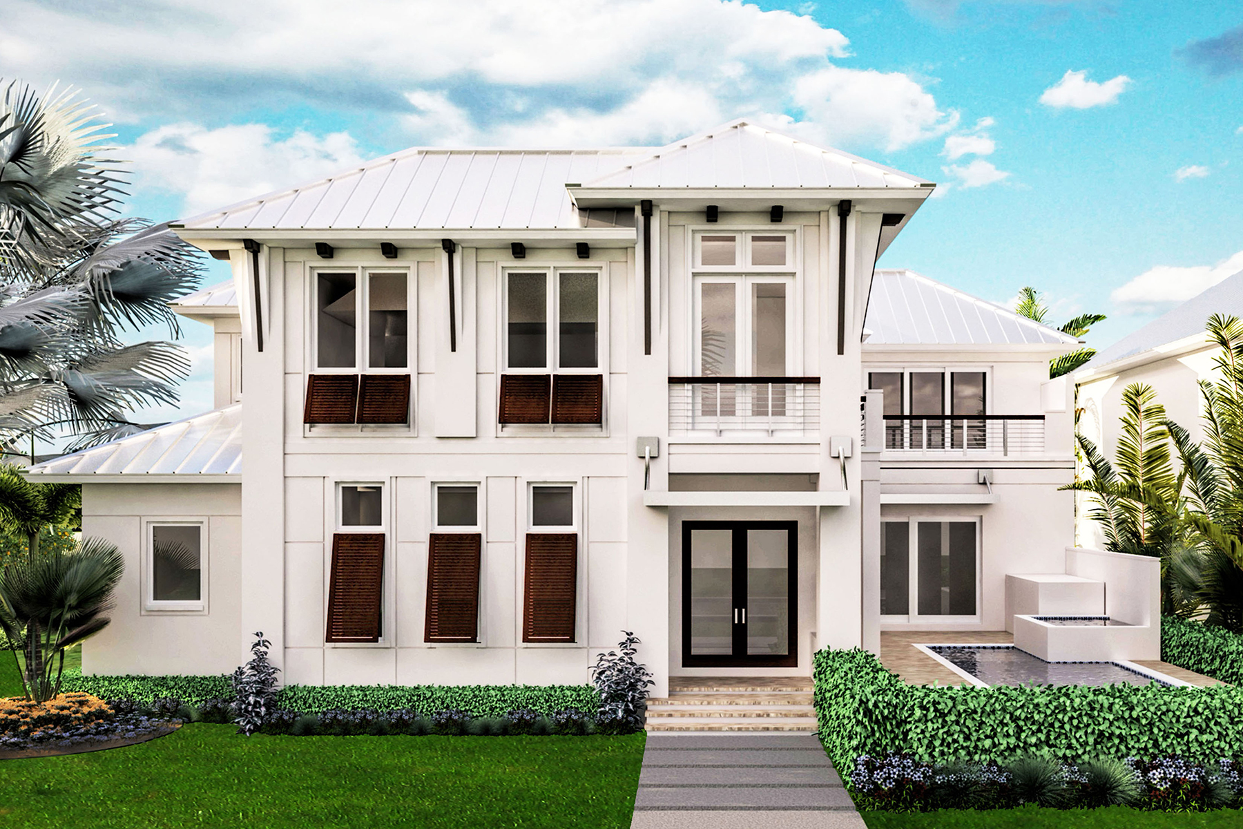 Maison unifamiliale pour l Vente à OLDE NAPLES 675 2nd St S Naples, Florida, 34102 États-Unis