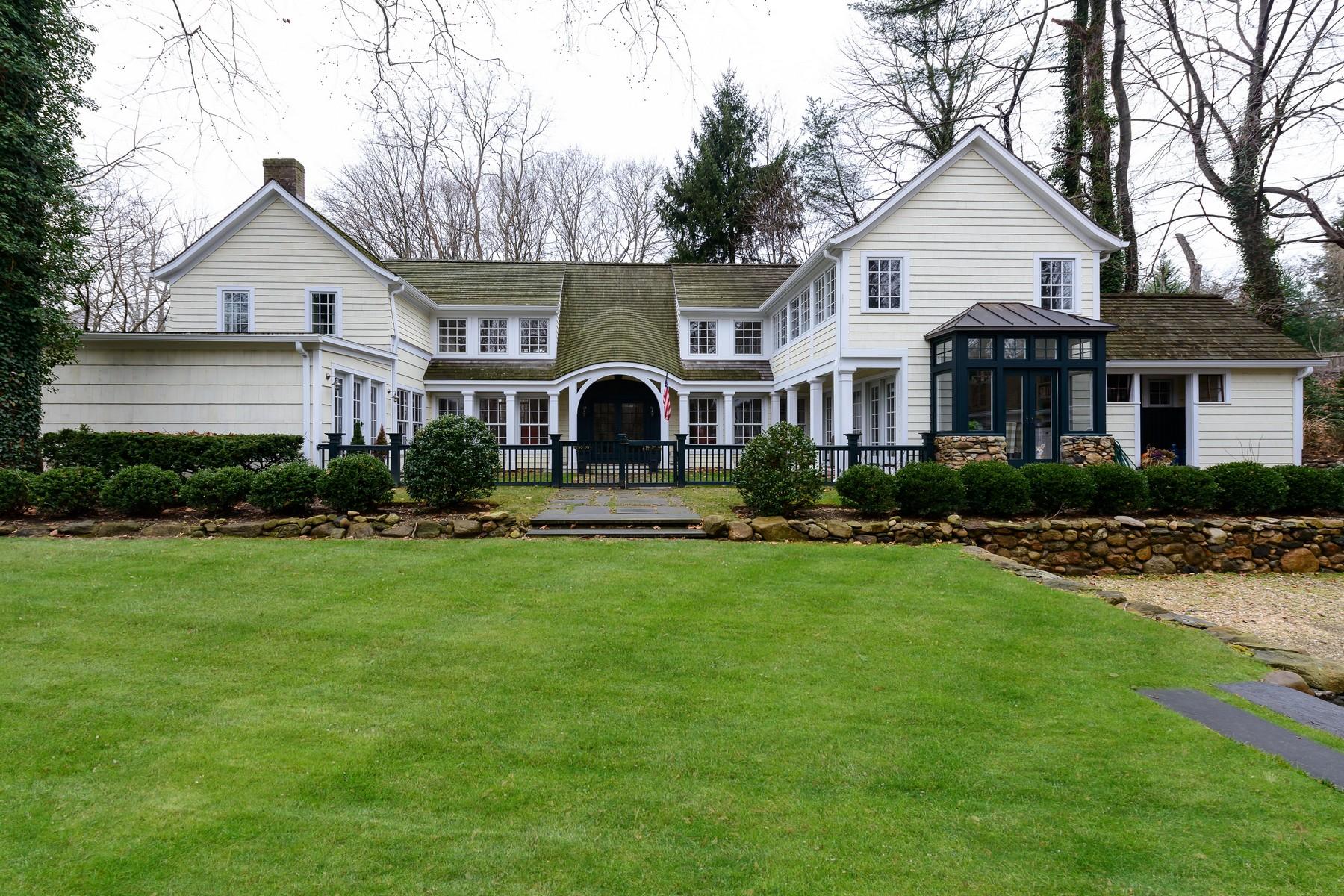 独户住宅 为 销售 在 Colonial 89 Oyster Bay Rd 卢卡斯特谷, 纽约州, 11560 美国