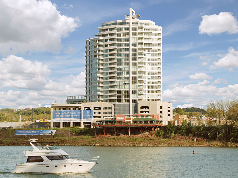 Condominium for Sale at Embodies Magnificence 400 Riverboat Row 2100 Newport, Kentucky 41071 United States