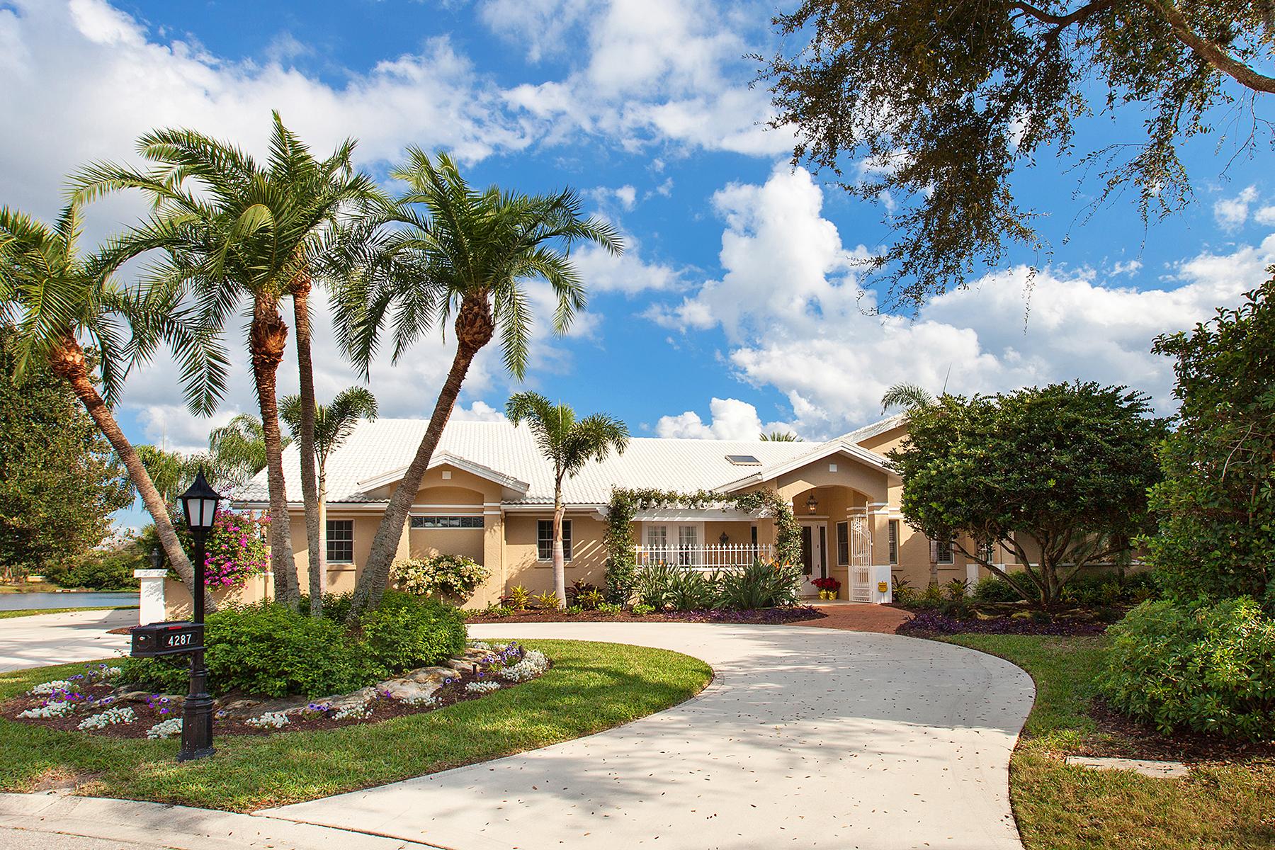 단독 가정 주택 용 매매 에 PRESTANCIA 4287 Escondito Cir Sarasota, 플로리다 34238 미국