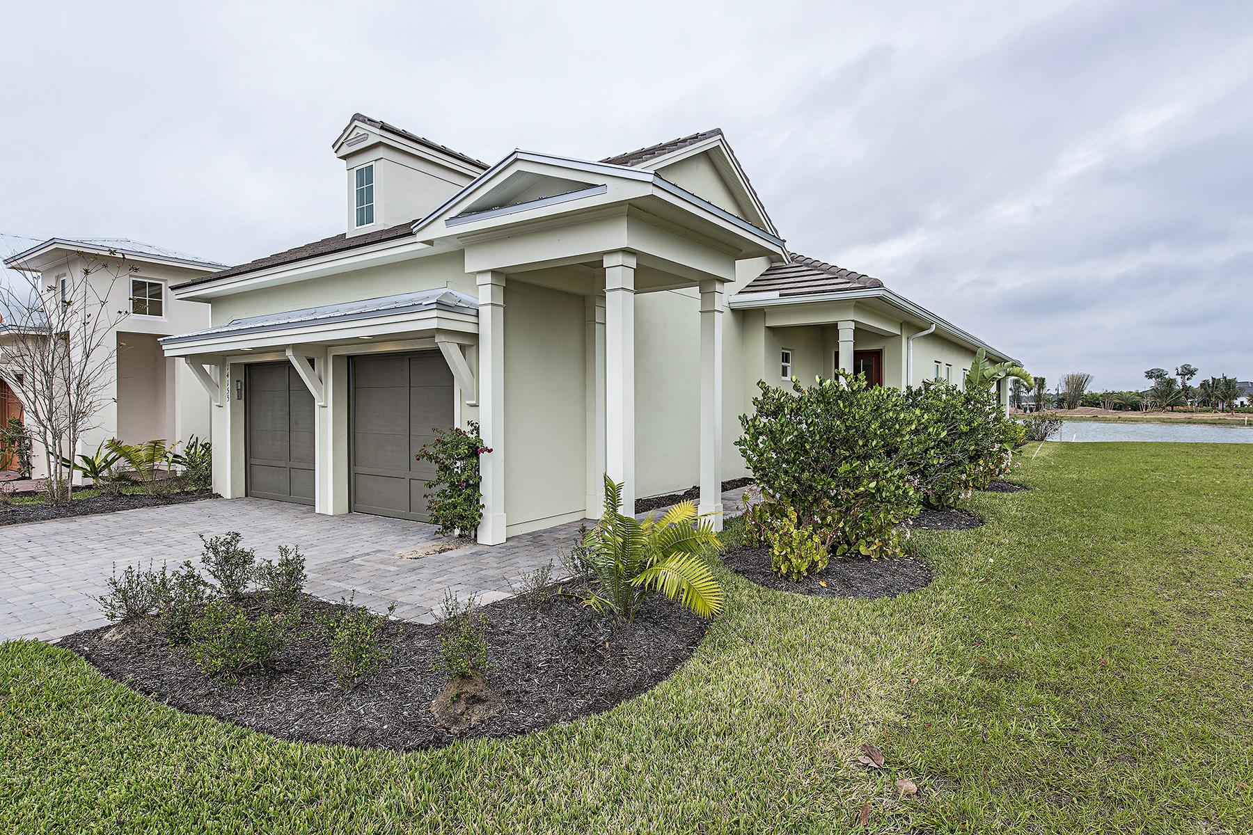 獨棟家庭住宅 為 出售 在 NAPLES RESERVE - SAVANNAH LAKES 14155 Nautica Ct Naples, 佛羅里達州, 34114 美國
