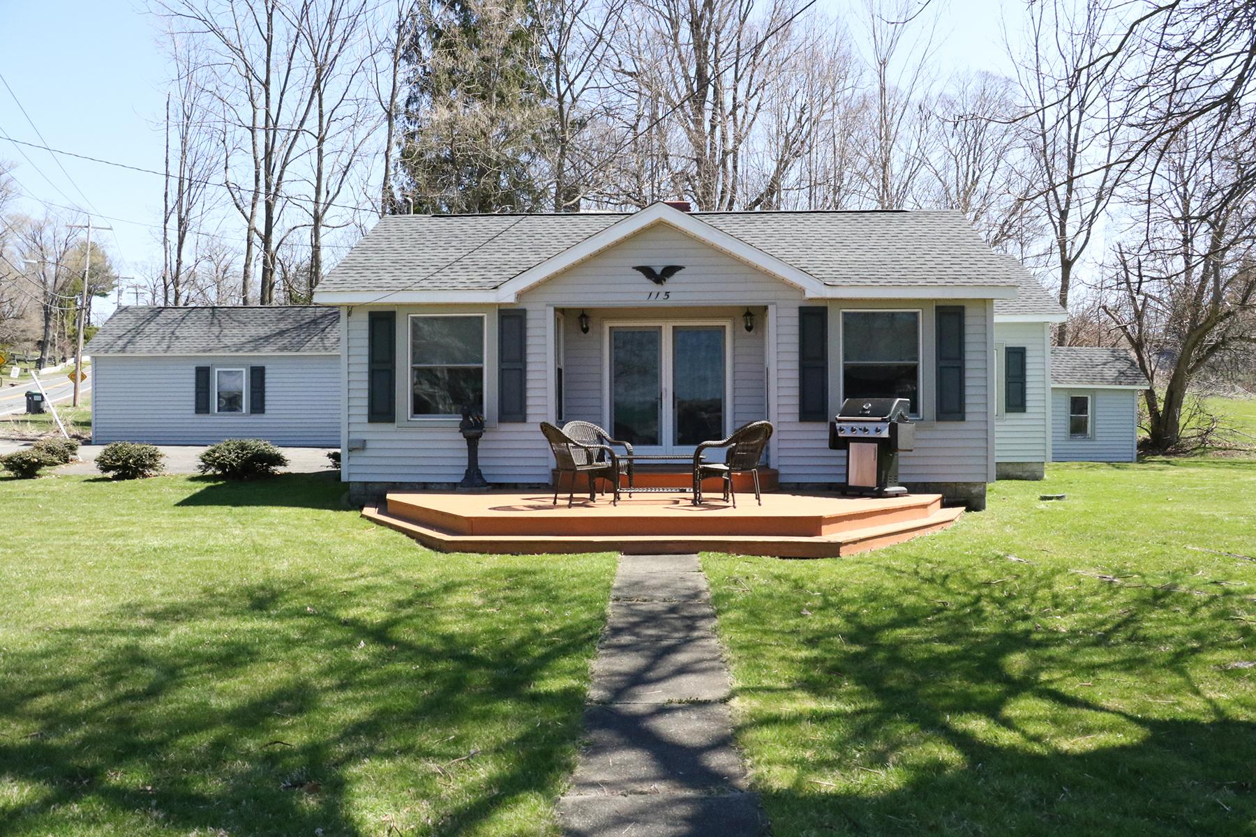 Частный односемейный дом для того Продажа на Hamlet of Livingston 115 County Route 19 Rd Livingston, Нью-Йорк 12541 Соединенные Штаты