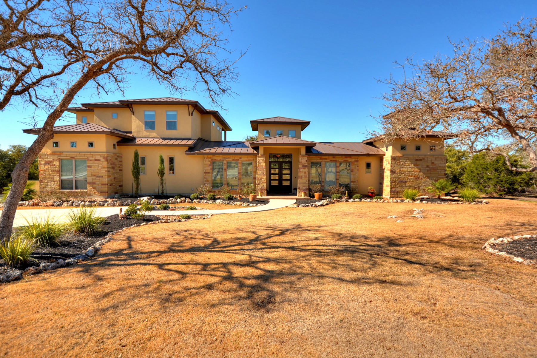 sales property at Sophisticated Hill Country Home in Fair Oaks Ranch