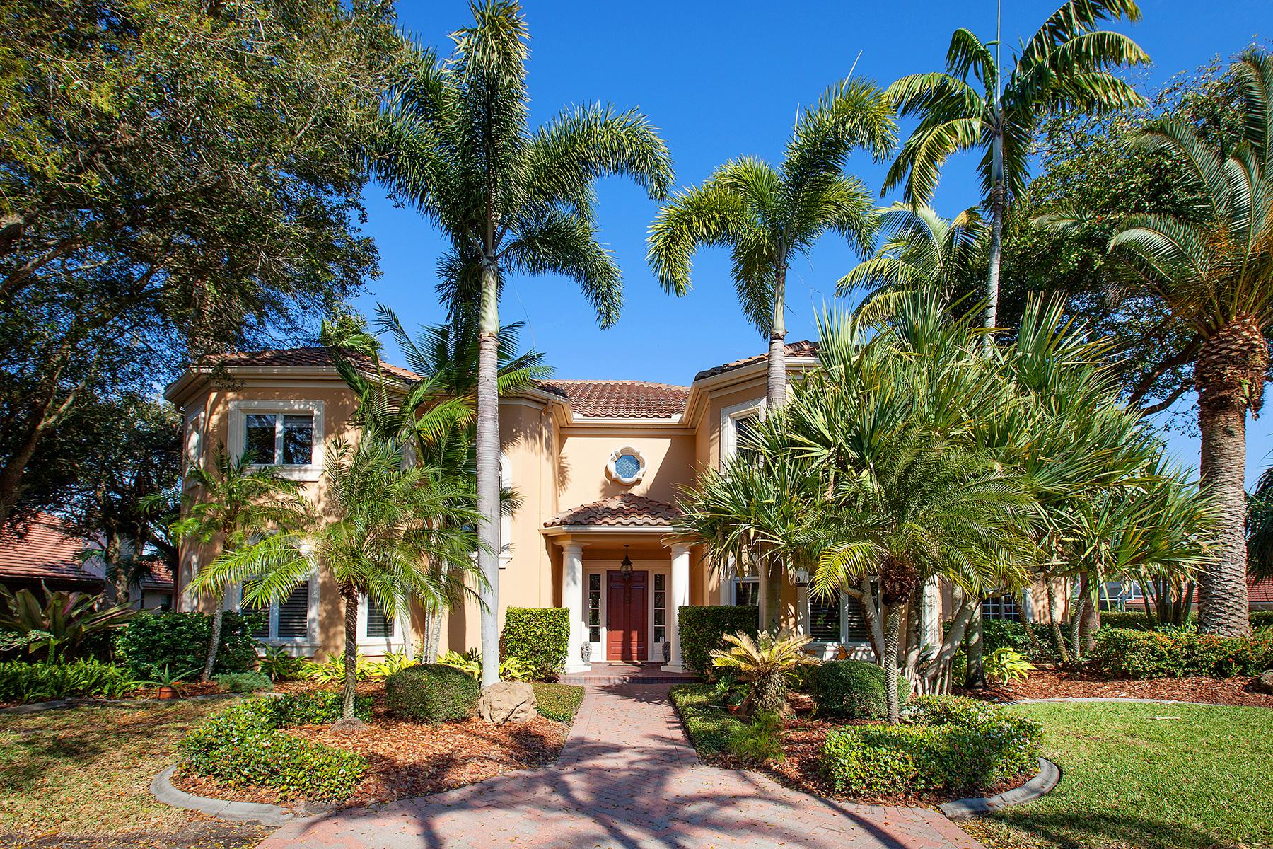 Single Family Home for Sale at PRESTANCIA 4079 Las Palmas Way Sarasota, Florida 34238 United States