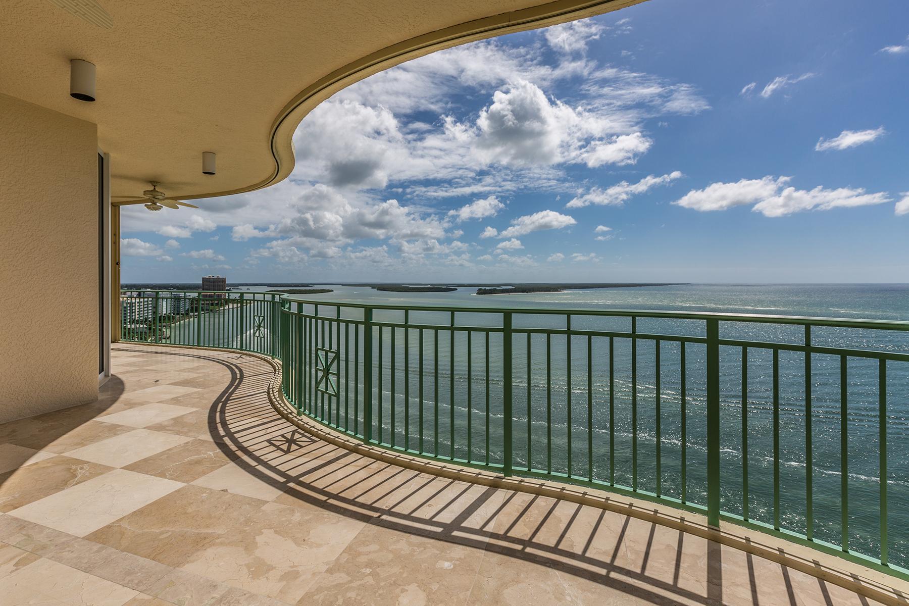 共管式独立产权公寓 为 销售 在 CAPE MARCO - BELIZE 970 Cape Marco Dr 1504 马可岛, 佛罗里达州, 34145 美国