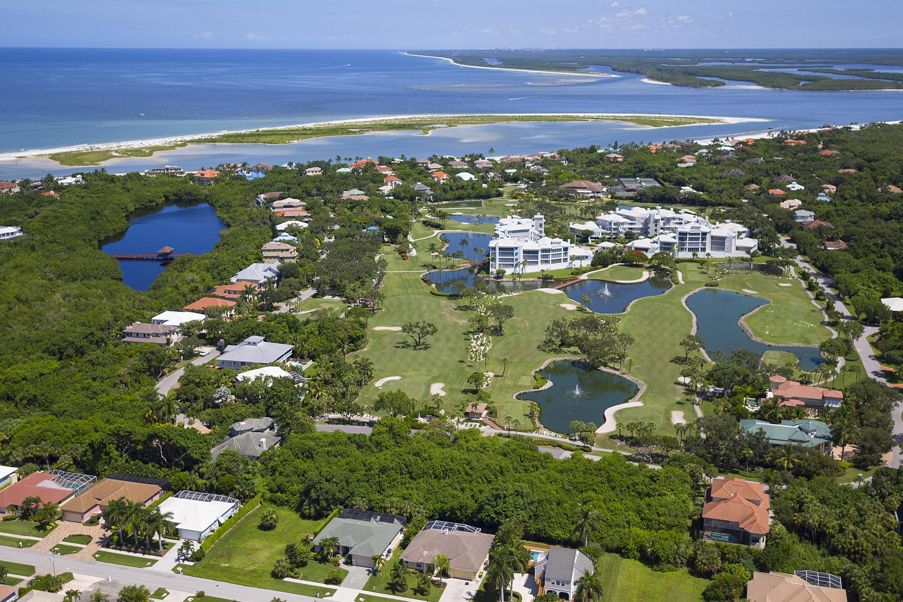 토지 용 매매 에 MARCO ISLAND - HIDEAWAY BEACH 261 Hideaway Cir S Marco Island, 플로리다, 34145 미국