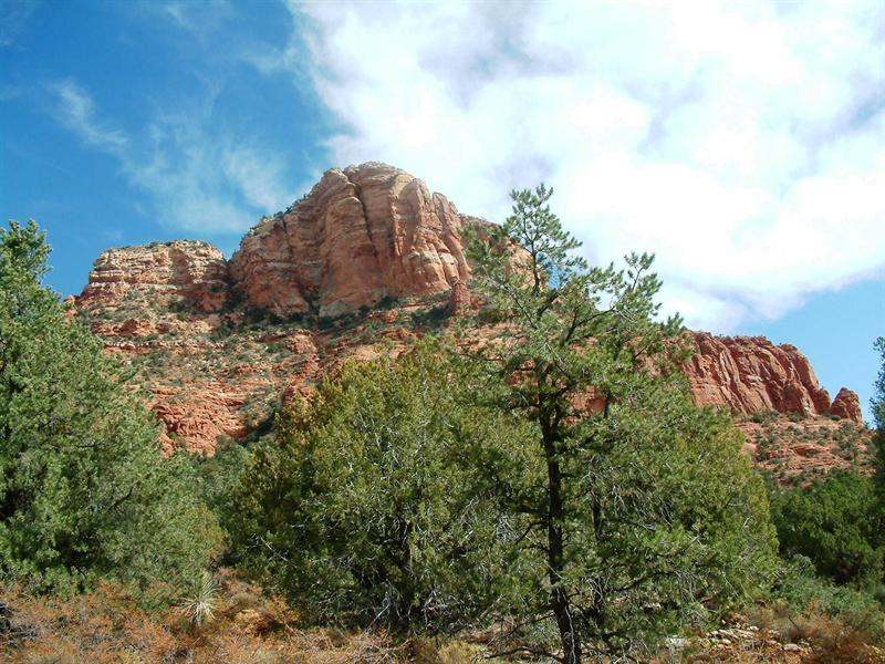 Terrain pour l Vente à Beautiful Hilltop Custom Home Site 339 Acacia Drive Sedona, Arizona, 86336 États-Unis