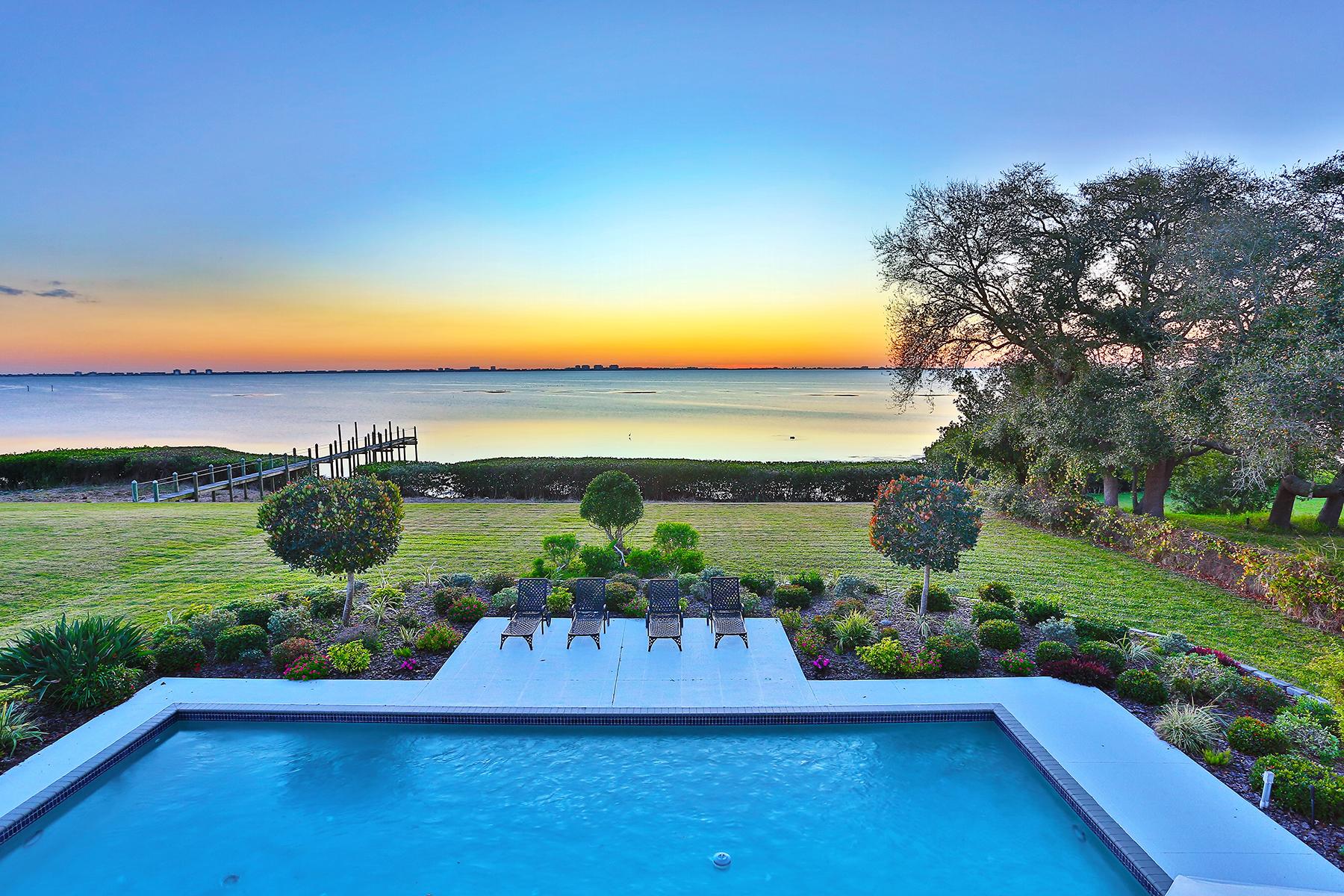 Maison unifamiliale pour l Vente à LONGBAY 8152 Longbay Blvd Sarasota, Florida 34243 États-Unis