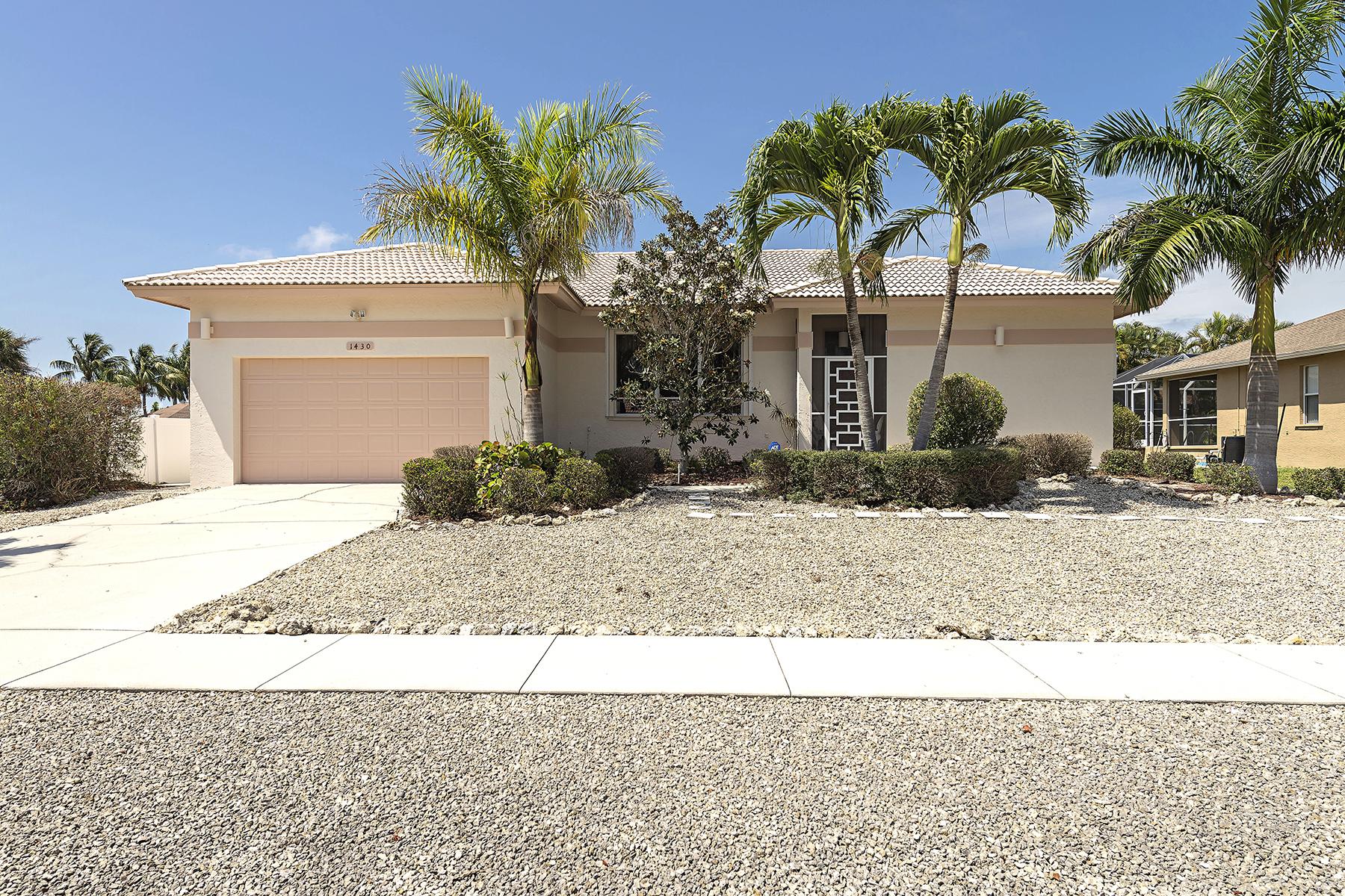 단독 가정 주택 용 매매 에 MARCO ISLAND - GALLEON AVE 1430 Galleon Ave Marco Island, 플로리다 34145 미국