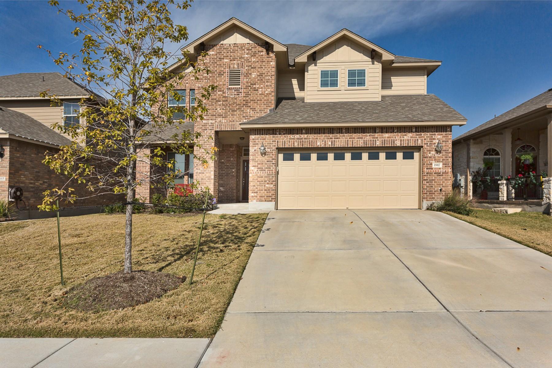 Casa Unifamiliar por un Alquiler en Amazing Home for Lease in a Fantastic Community 1917 Conn Creek Rd Cedar Park, Texas 78613 Estados Unidos