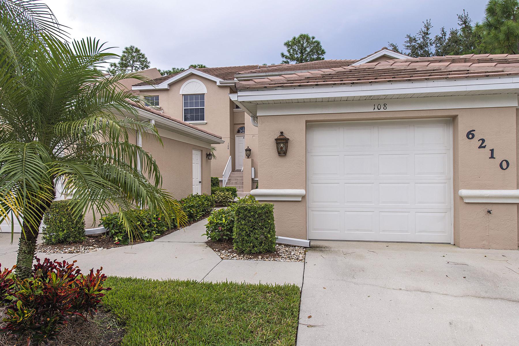 コンドミニアム のために 売買 アット WILSHIRE LAKES - WILSHIRE PINES 6210 Wilshire Pines Cir 108 Naples, フロリダ 34109 アメリカ合衆国
