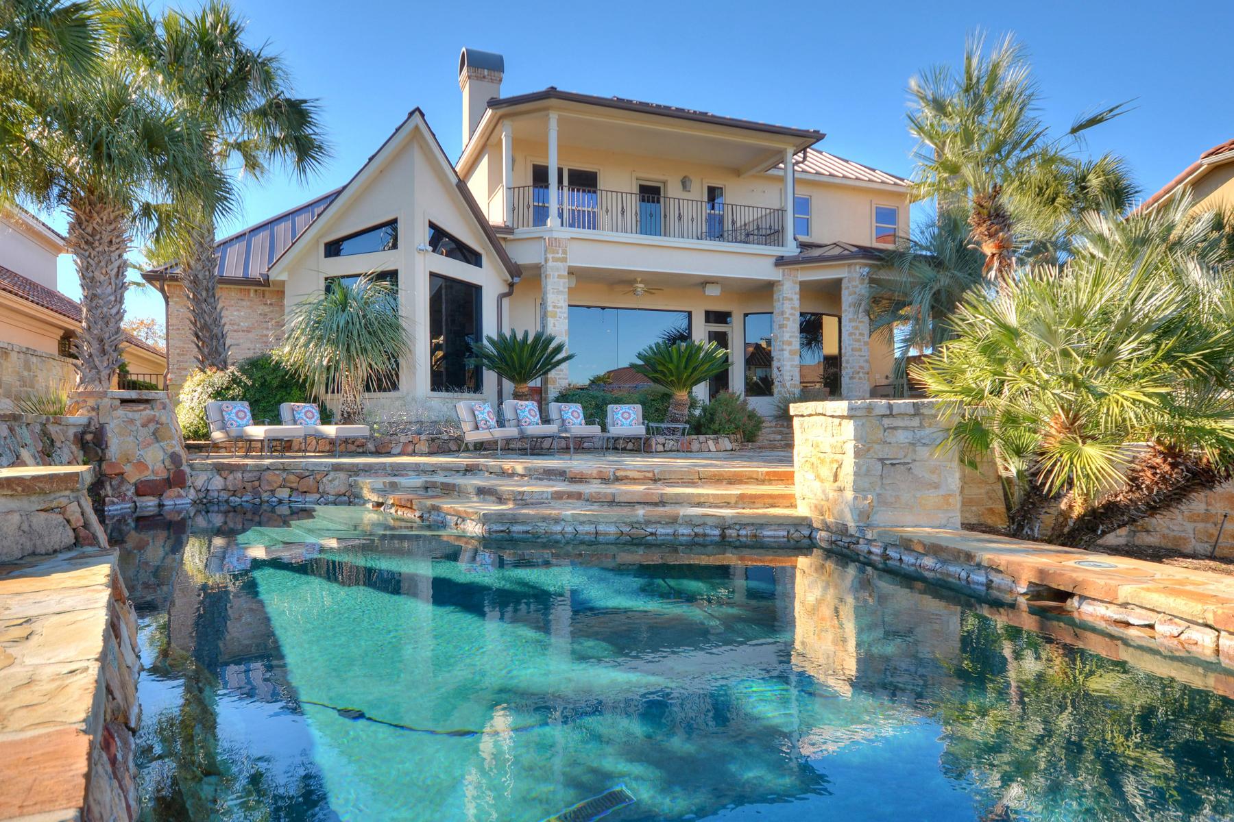 Single Family Home for Sale at Absolute Paradise on Lake LBJ 73 Applehead Island Horseshoe Bay, Texas 78657 United States