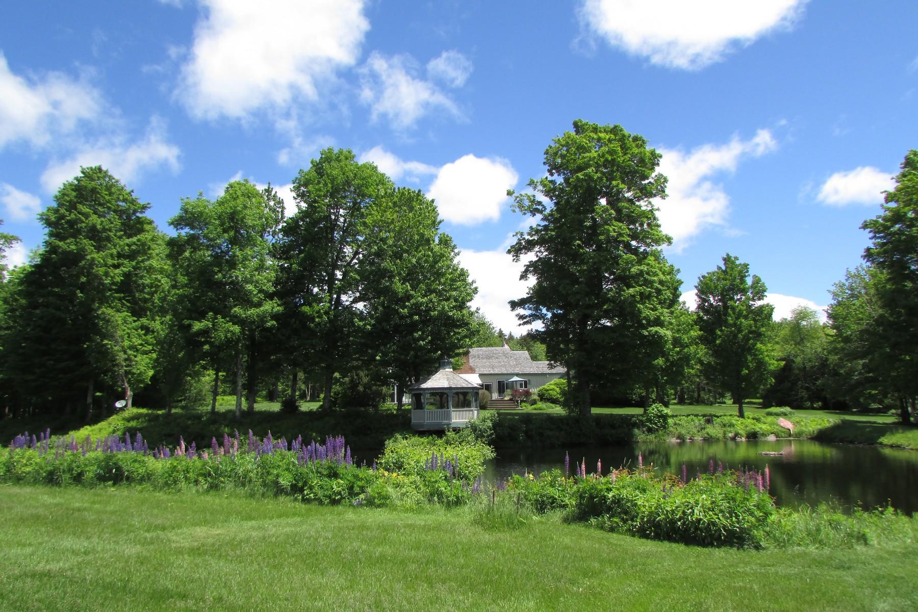 Maison unifamiliale pour l Vente à Private Vermont Paradise 176 Brown Rd Wilmington, Vermont, 05363 États-Unis