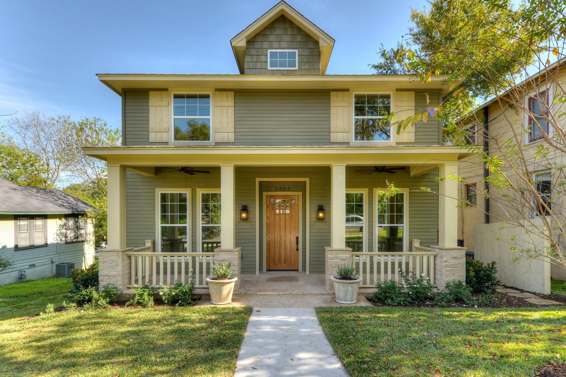 Nhà ở một gia đình vì Bán tại New Build Just Completed 3303 Liberty St Austin, Texas 78705 Hoa Kỳ