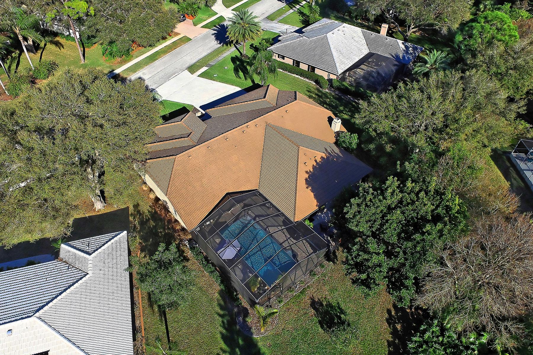 Casa Unifamiliar por un Venta en SORRENTO WOODS 1309 Vermeer Dr Nokomis, Florida, 34275 Estados Unidos