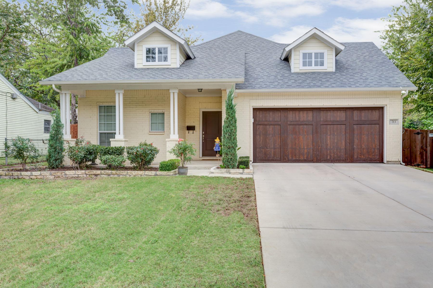 一戸建て のために 売買 アット 713 N Bailey Avenue, Fort Worth Fort Worth, テキサス, 76107 アメリカ合衆国