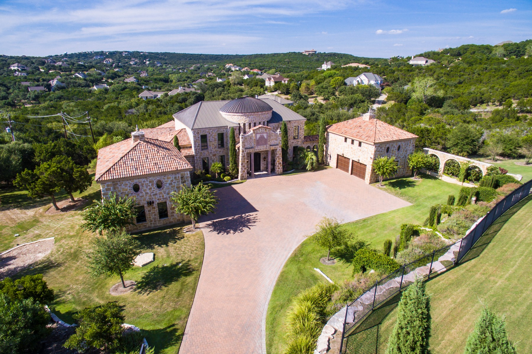 Single Family Home for Sale at A Private Escape 4412 City Park 3 Austin, Texas, 78730 United States