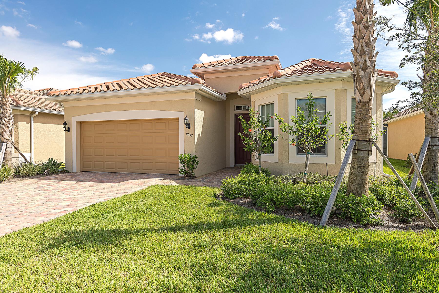 Частный односемейный дом для того Продажа на THE QUARRY 9097 Siesta Bay Dr Naples, Флорида, 34120 Соединенные Штаты