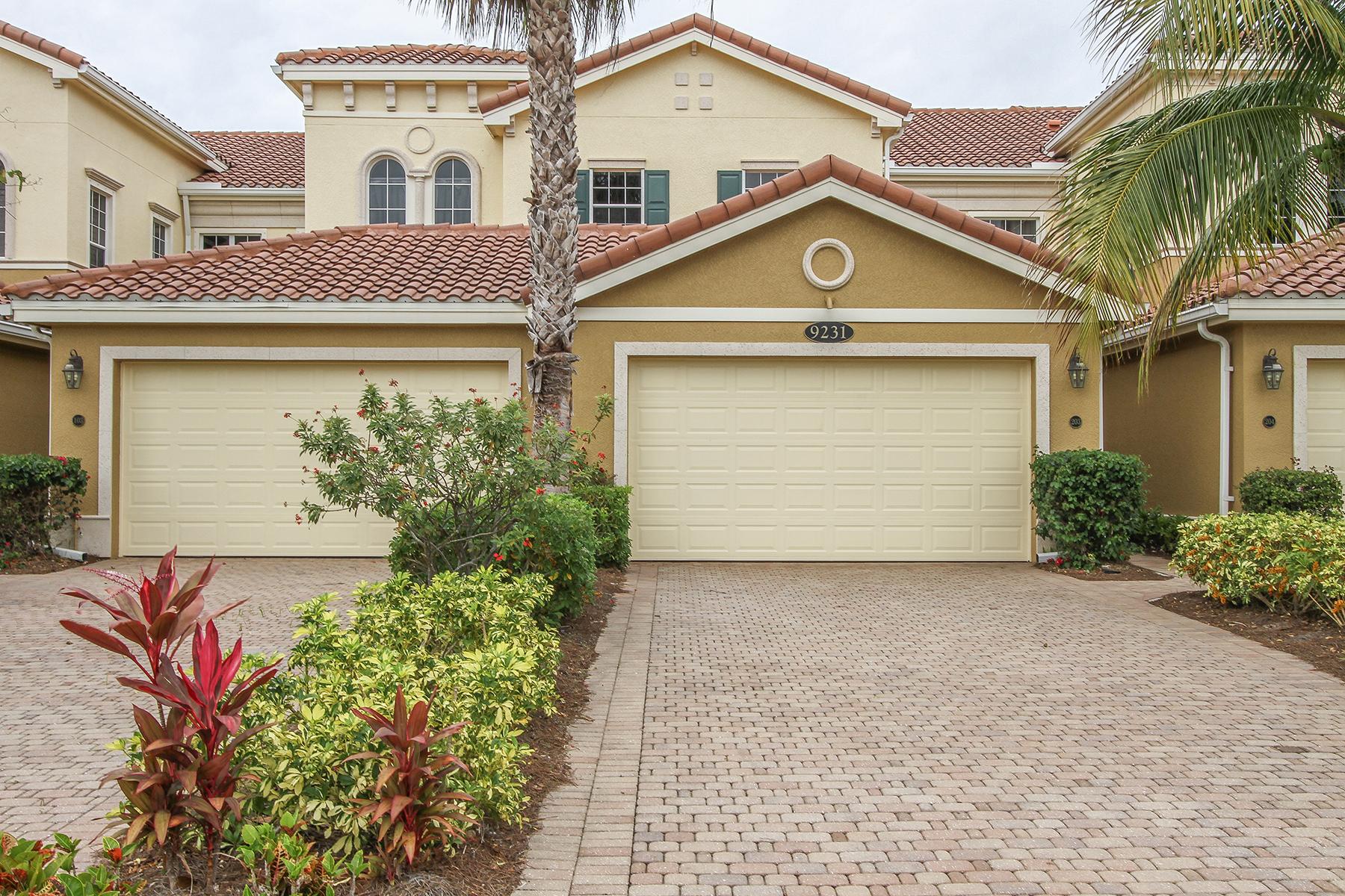 Condo / Townhome / Villa for Rent at 9231 Tesoro Ln 203 Naples, Florida 34114 United States