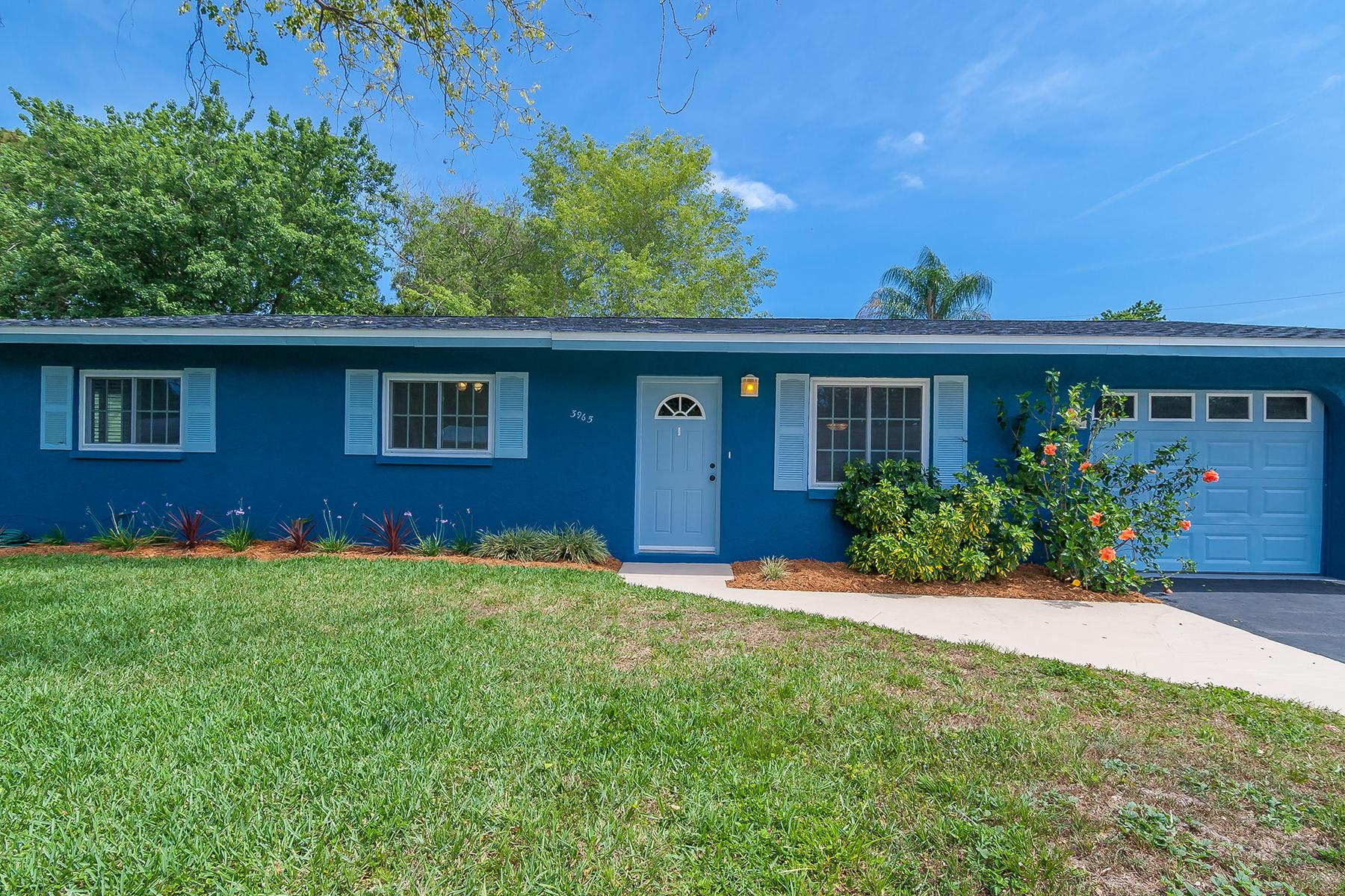 단독 가정 주택 용 매매 에 SARASOTA SPRINGS 3965 Corona Ln Sarasota, 플로리다, 34232 미국
