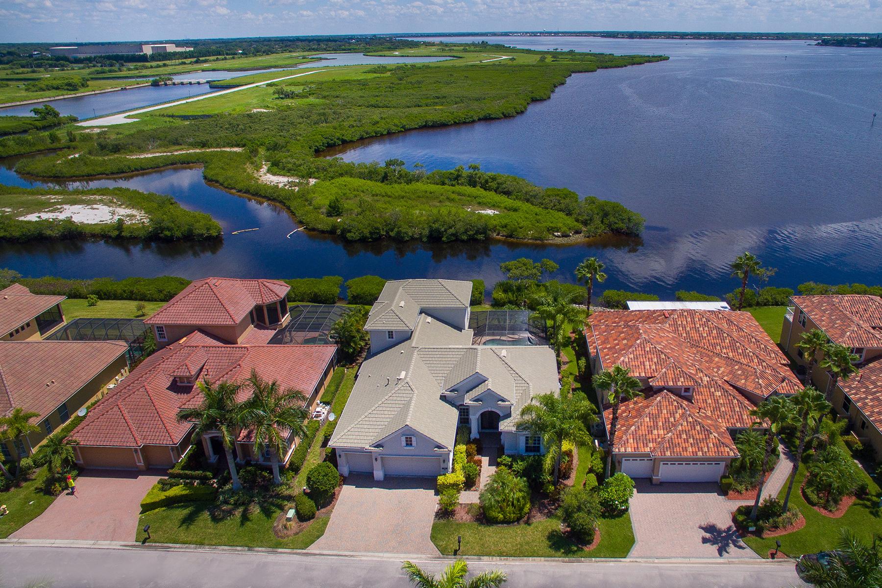 独户住宅 为 销售 在 PENINSULA AT RIVIERA DUNES 118 12th Ave E 帕尔梅托, 佛罗里达州, 34221 美国