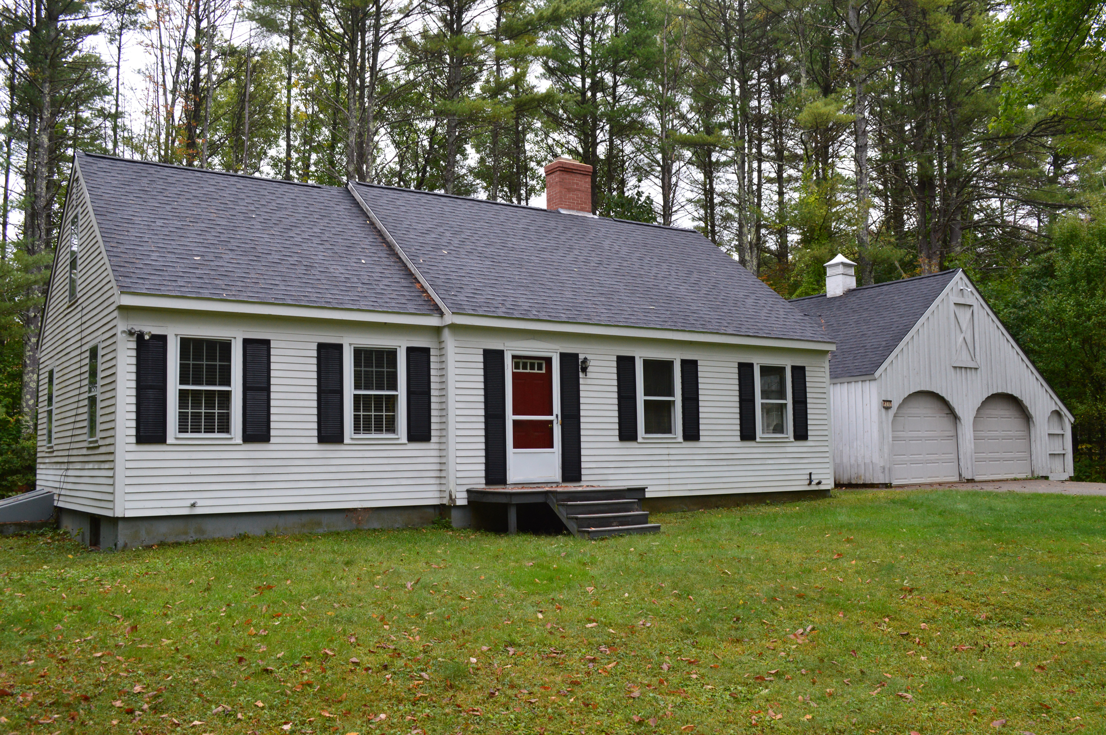 Maison unifamiliale pour l Vente à Charming Country Cape 14 Reedy Rd Moultonborough, New Hampshire, 03254 États-Unis