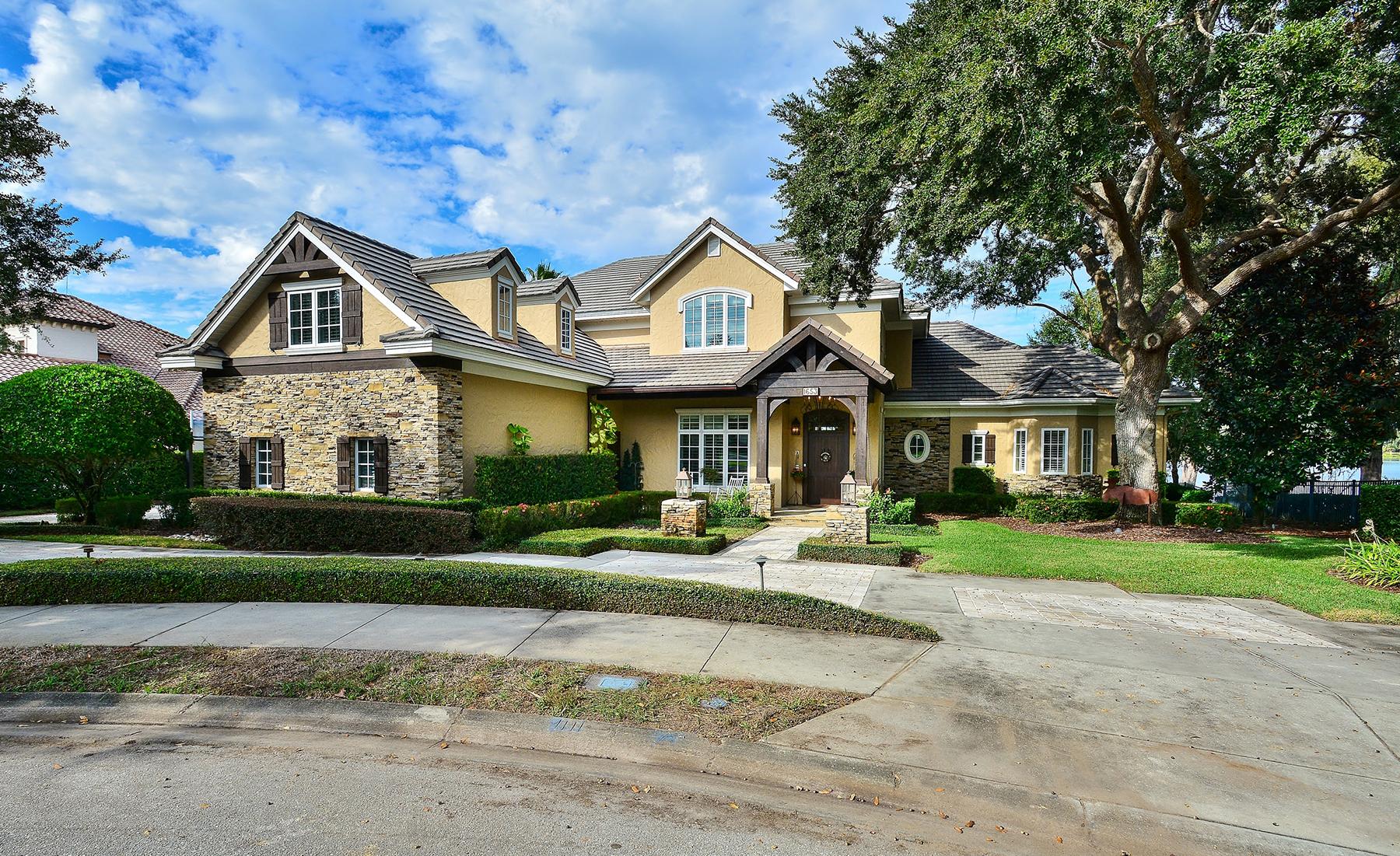 Частный односемейный дом для того Продажа на 1653 Chase Landing Way , Winter Park, FL 32789 1653 Chase Landing Way Winter Park, Флорида, 32789 Соединенные Штаты