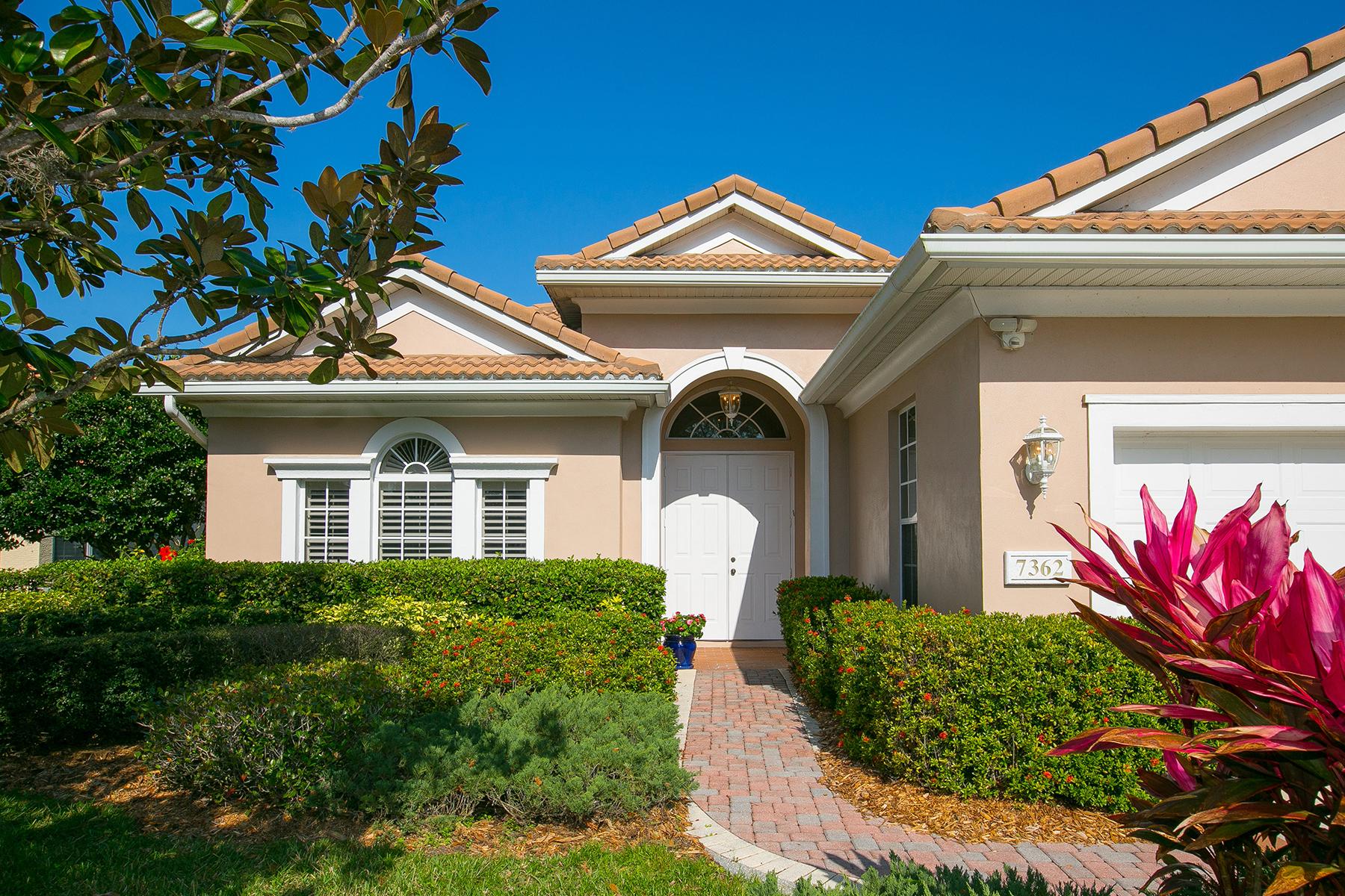 獨棟家庭住宅 為 出售 在 7362 Windemere Ln , University Park, FL 34201 7362 Windemere Ln University Park, 佛羅里達州, 34201 美國