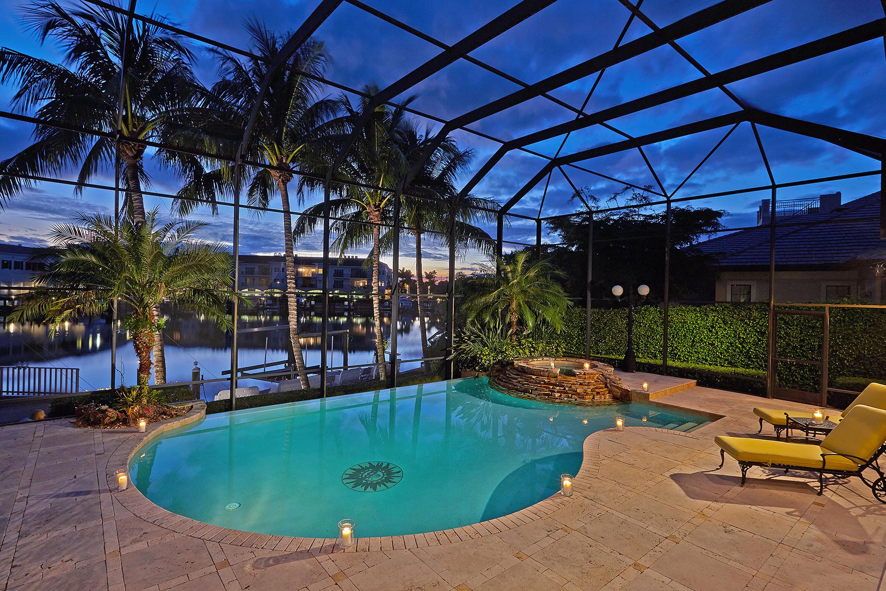 独户住宅 为 销售 在 COQUINA SANDS 1501 Ixora Dr Coquina Sands, 那不勒斯, 佛罗里达州, 34102 美国