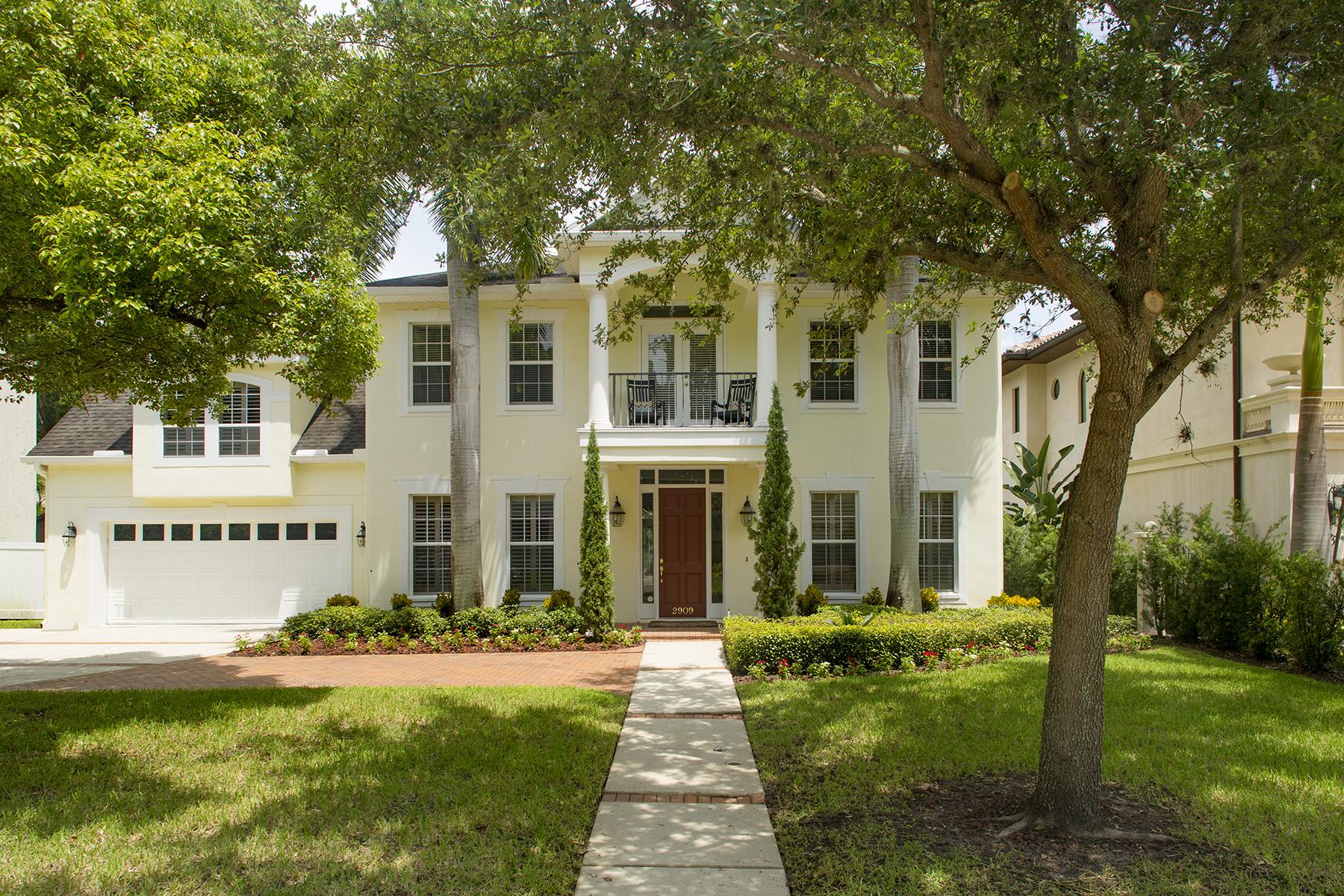 단독 가정 주택 용 매매 에 SOUTH TAMPA 2909 W Bay Vista Ave Tampa, 플로리다, 33611 미국