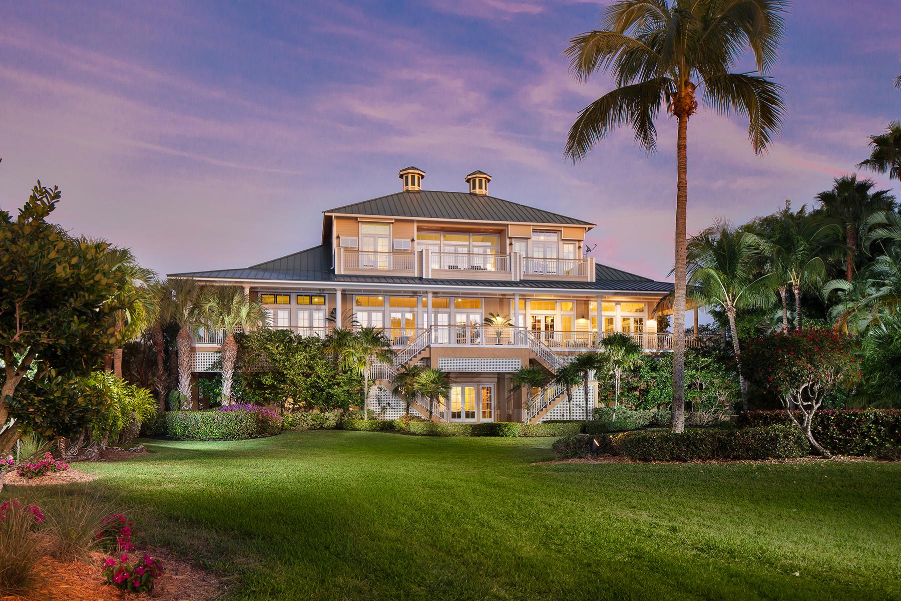 Maison unifamiliale pour l Vente à Bonita Springs 201 Barefoot Beach Blvd Bonita Springs, Florida, 34134 États-Unis